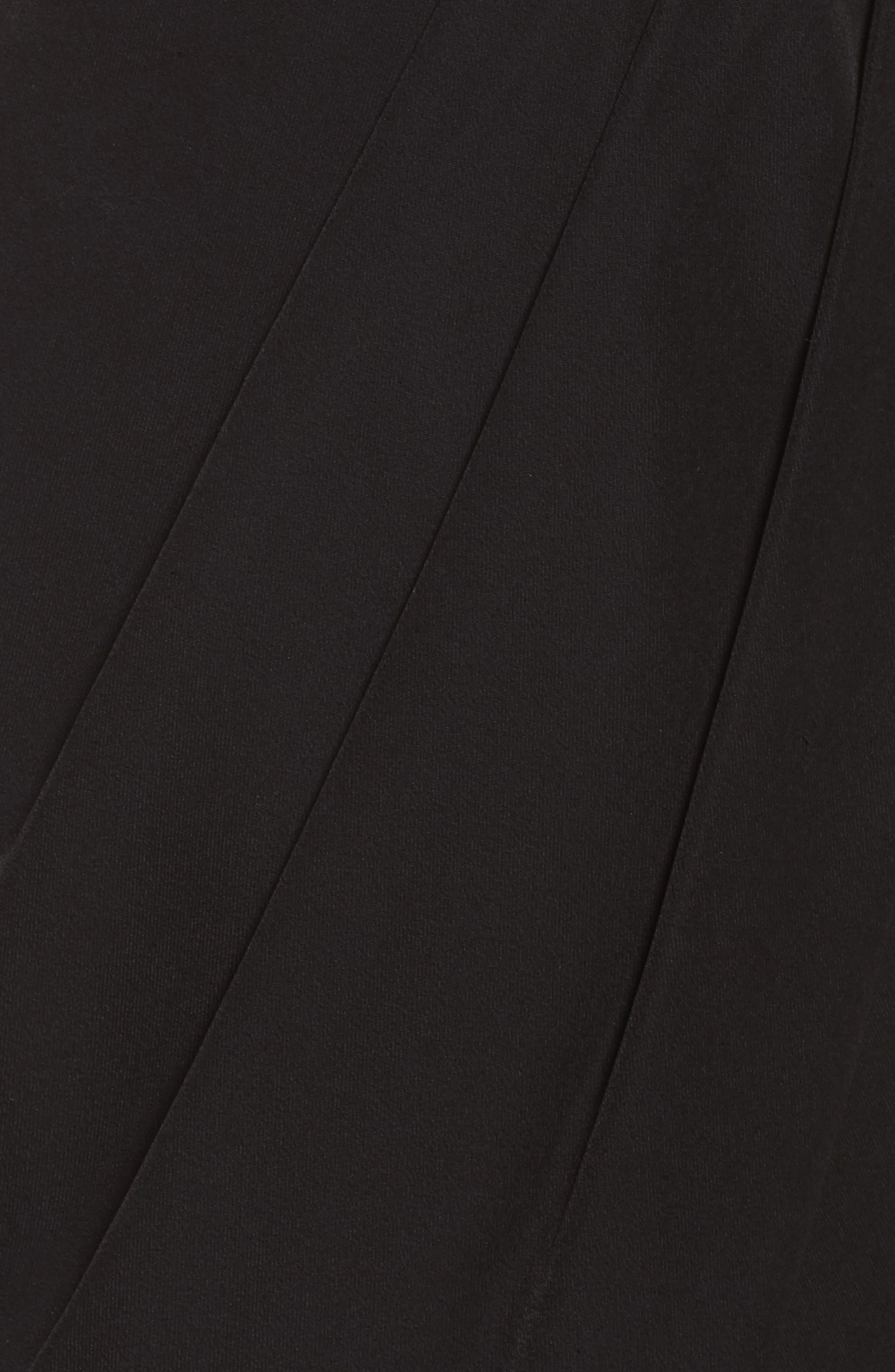 Loren Strapless Asymmetric Dress,                             Alternate thumbnail 5, color,