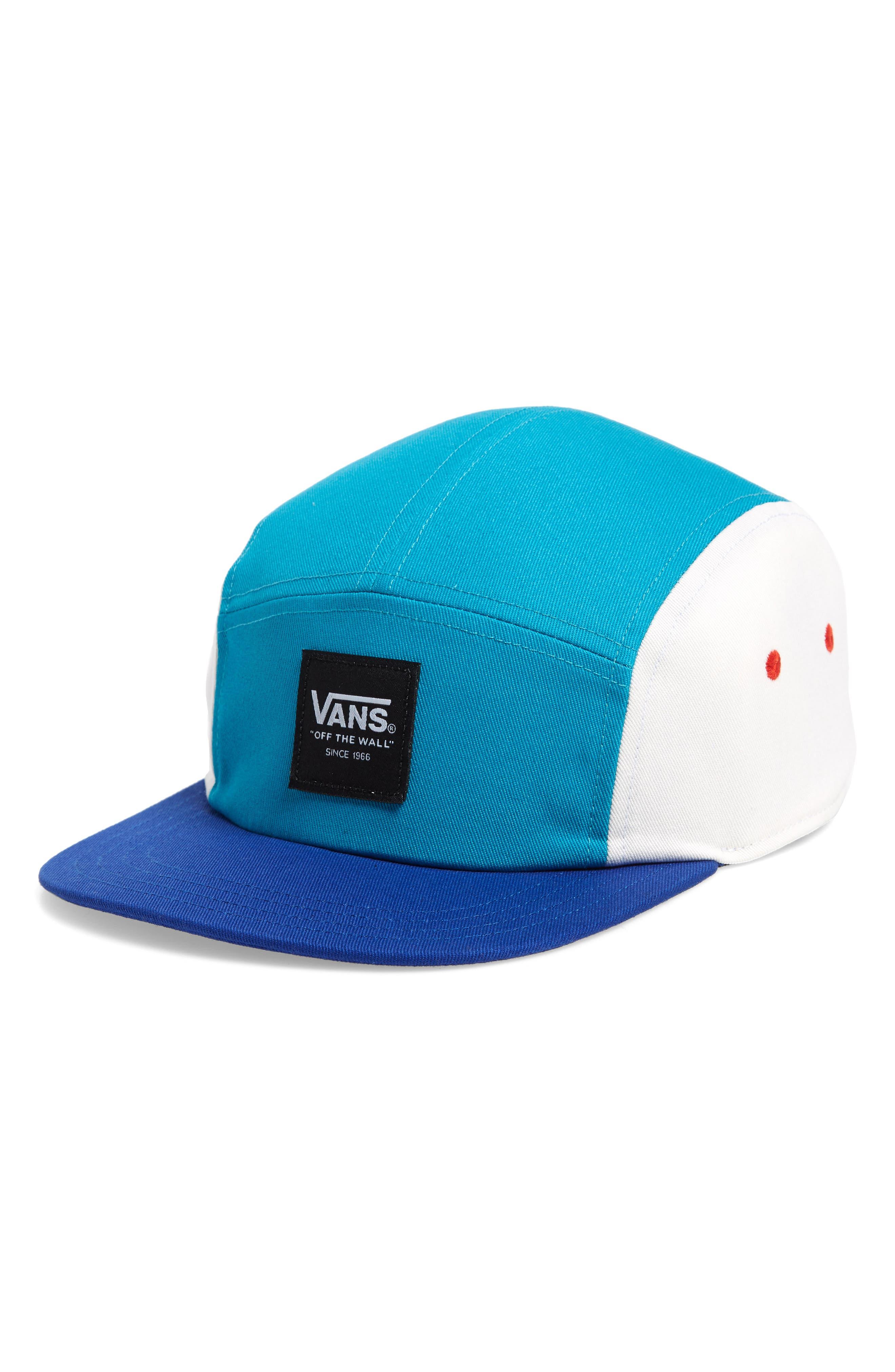 Ranger Five Panel Camper Hat,                         Main,                         color, MAZARINE BLUE