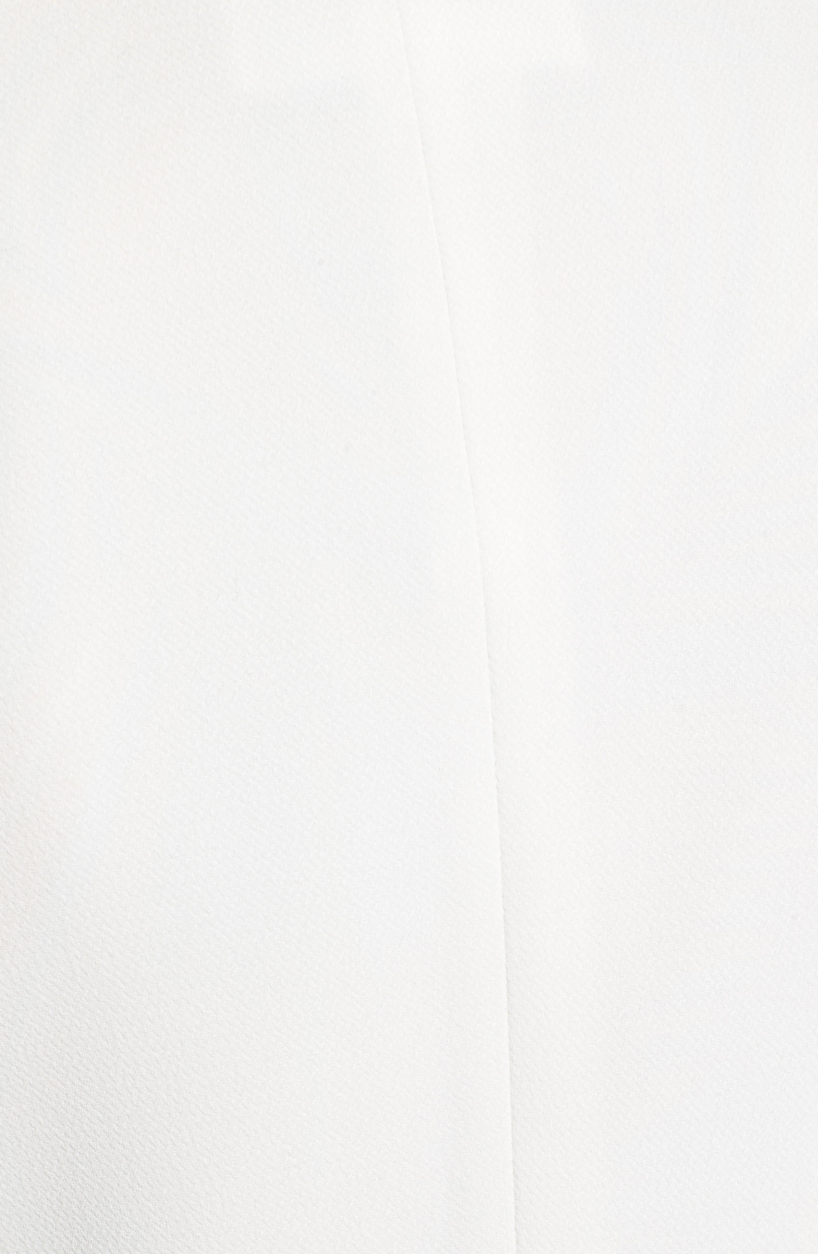 Jasika Crop Suit Jacket,                             Alternate thumbnail 6, color,                             VANILLA LIGHT
