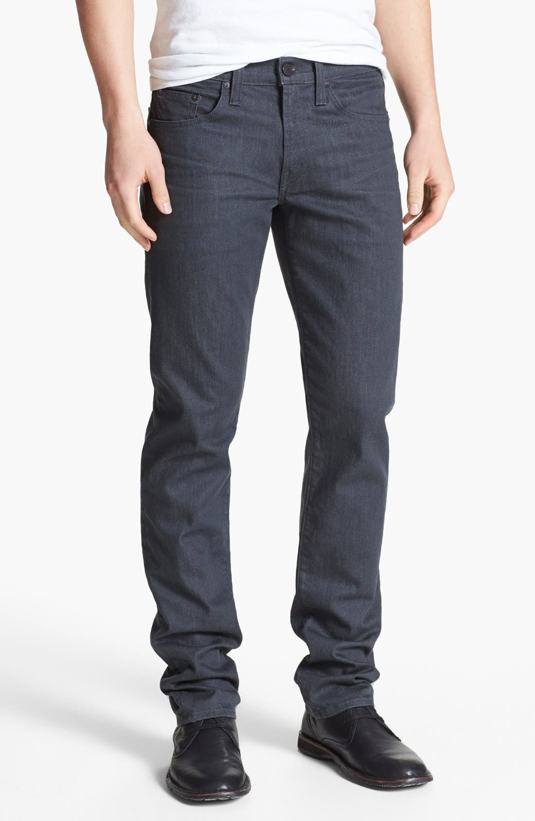 Tyler Slim Fit Jeans,                             Main thumbnail 1, color,                             SLATE RESIN