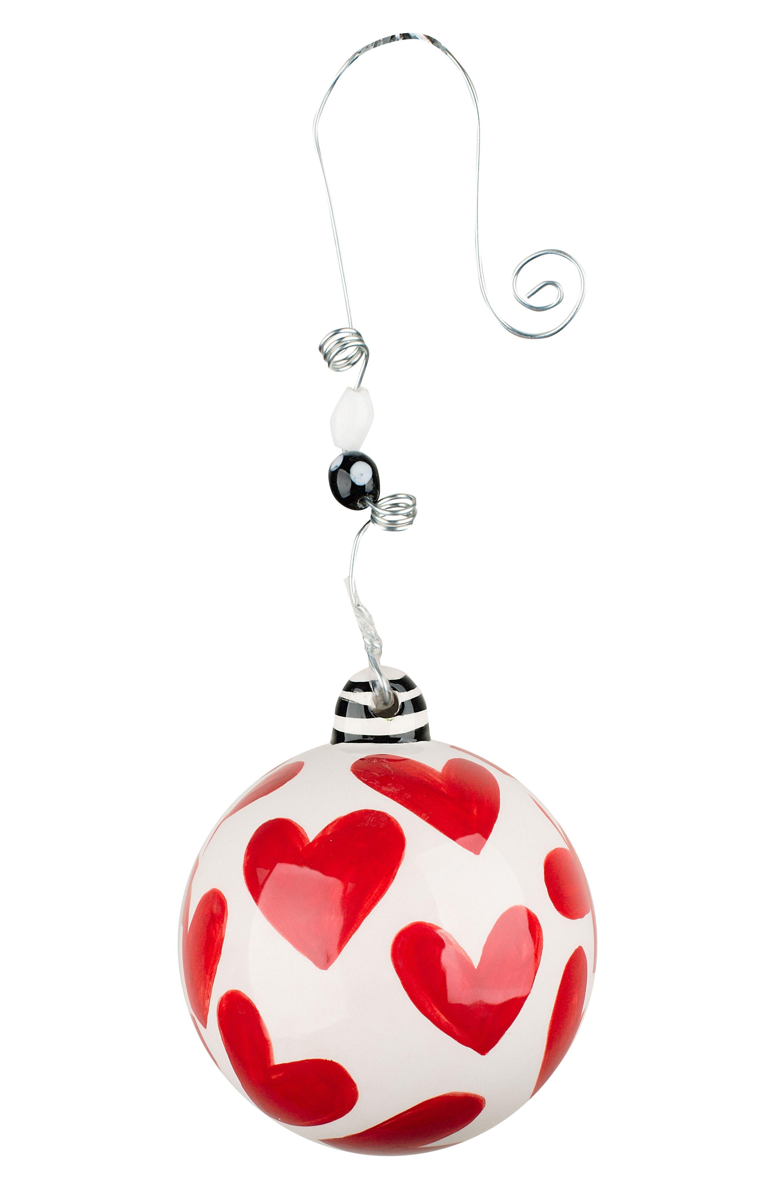 Love You More Ball Ornament,                             Alternate thumbnail 2, color,                             900