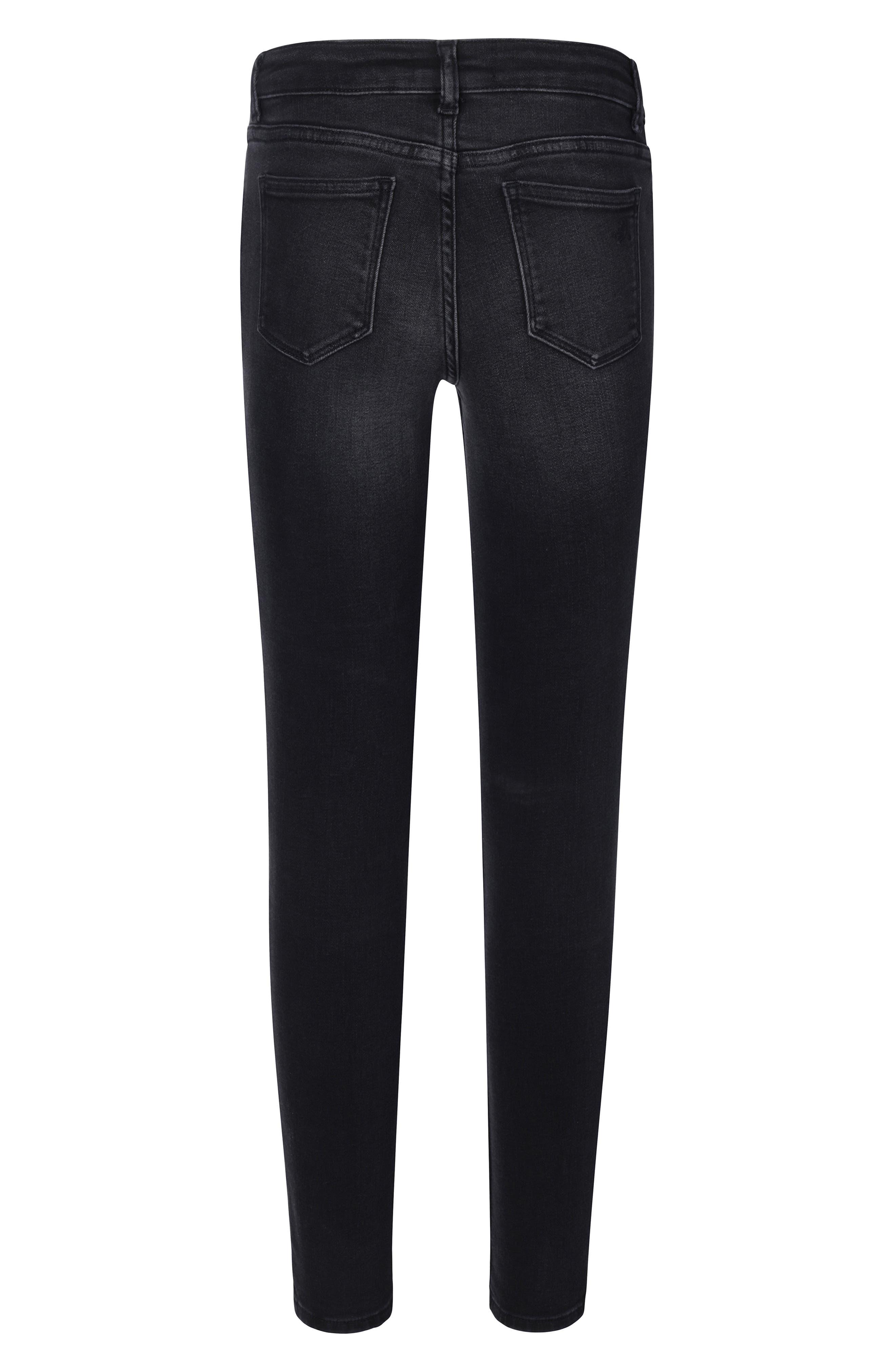 Chloe Moto Skinny Jeans,                             Alternate thumbnail 2, color,                             DUTCH