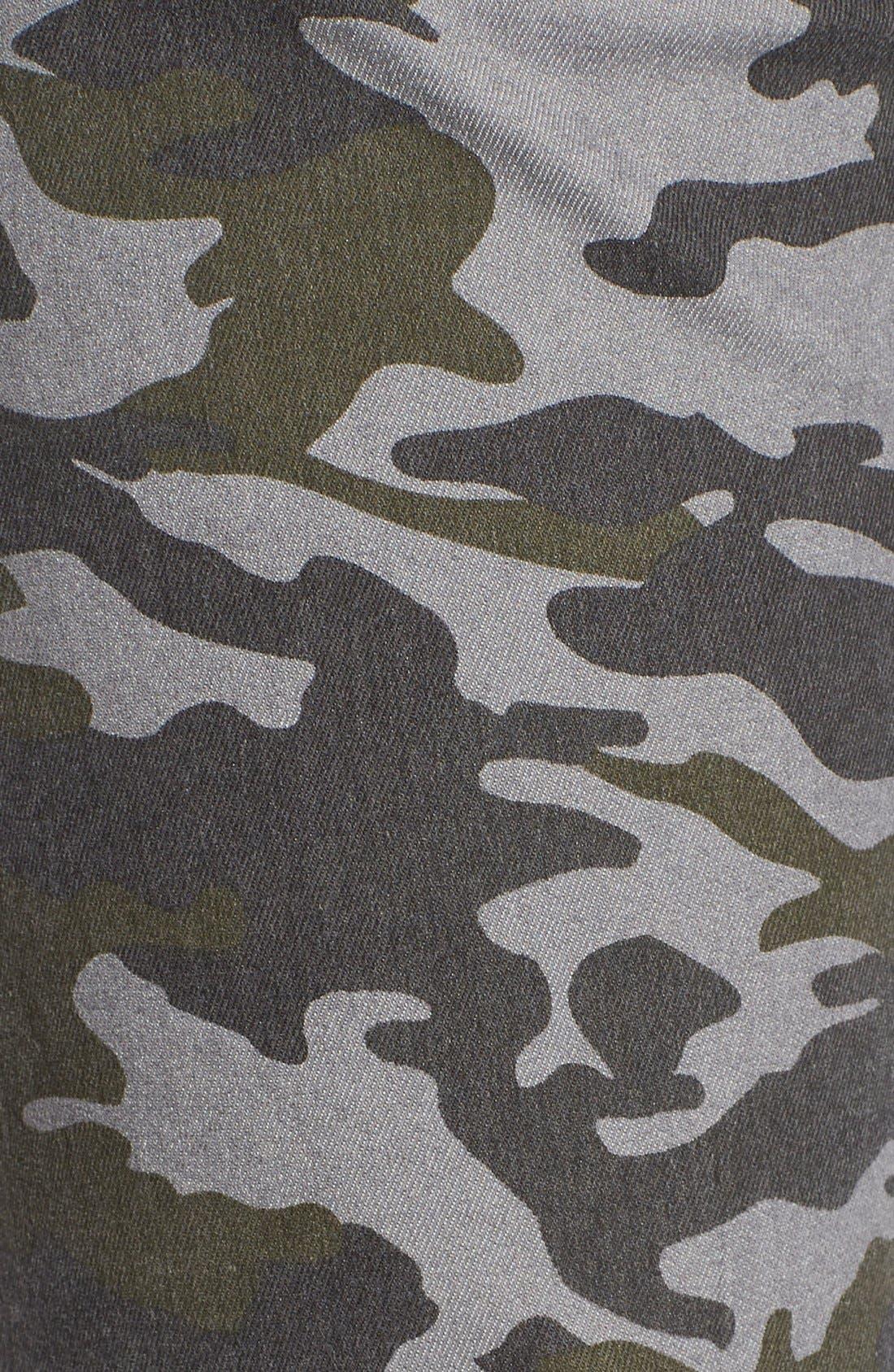 Camo Print Cargo Pants,                             Alternate thumbnail 4, color,                             317
