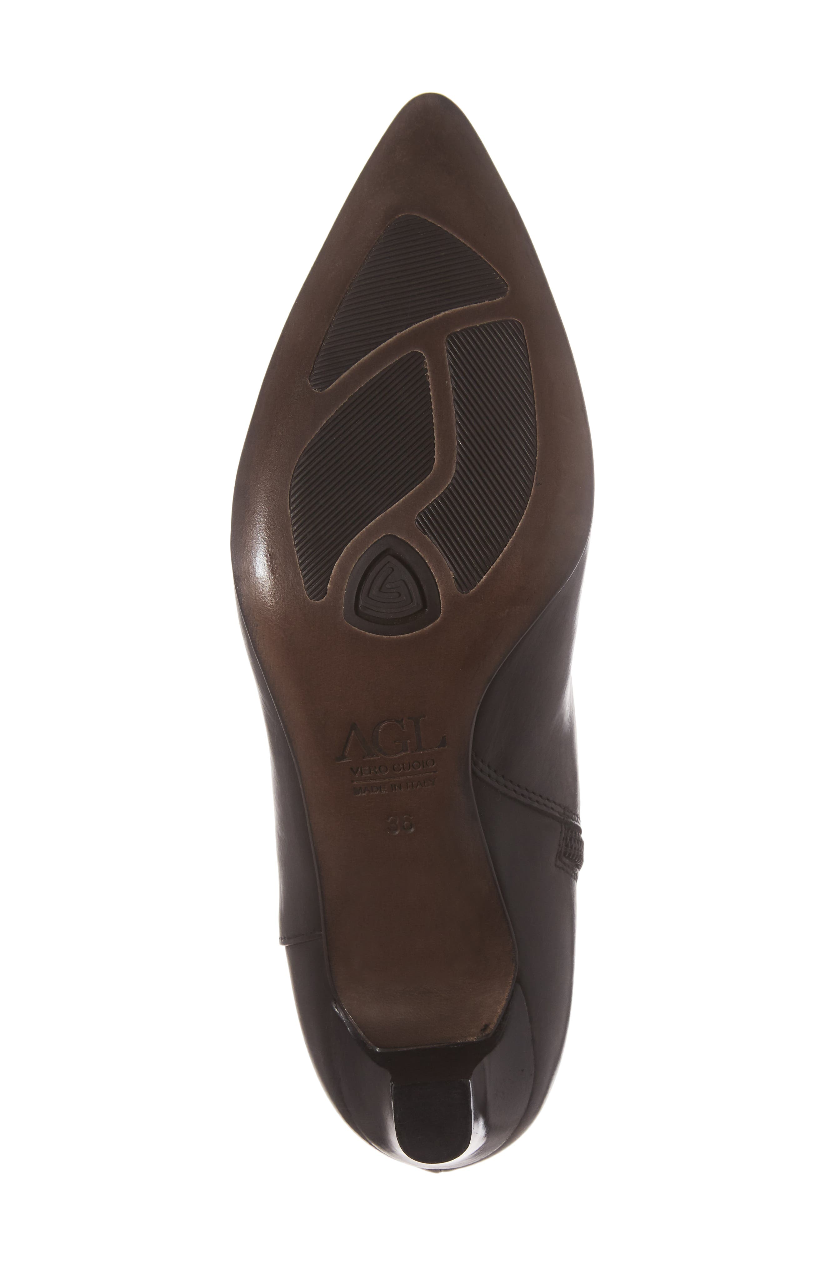 AG Pointed Toe Bootie,                             Alternate thumbnail 6, color,                             001