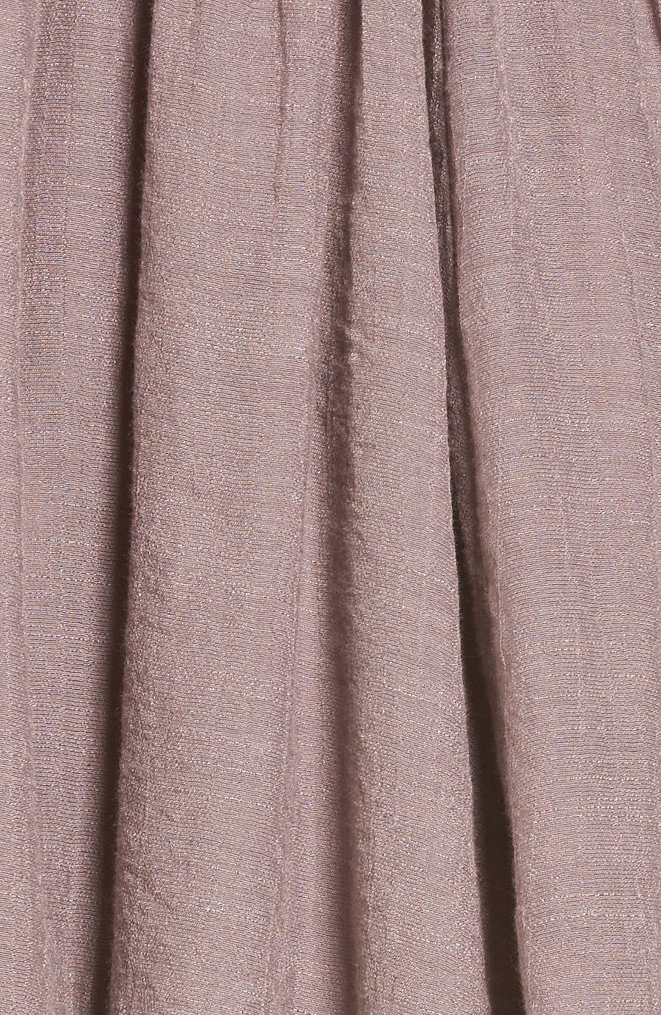 Lace-Up Peasant Dress,                             Alternate thumbnail 5, color,                             530