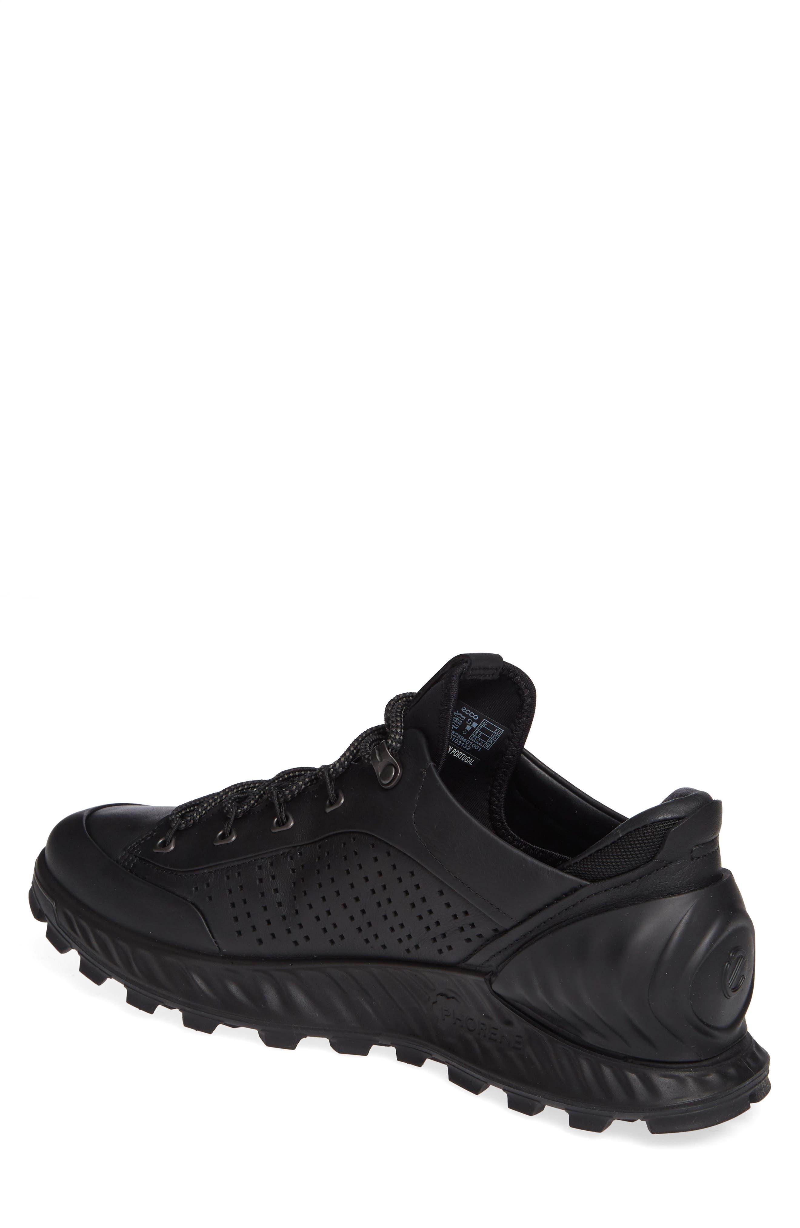 Exostrike High Top Sneaker,                             Alternate thumbnail 2, color,                             BLACK LEATHER
