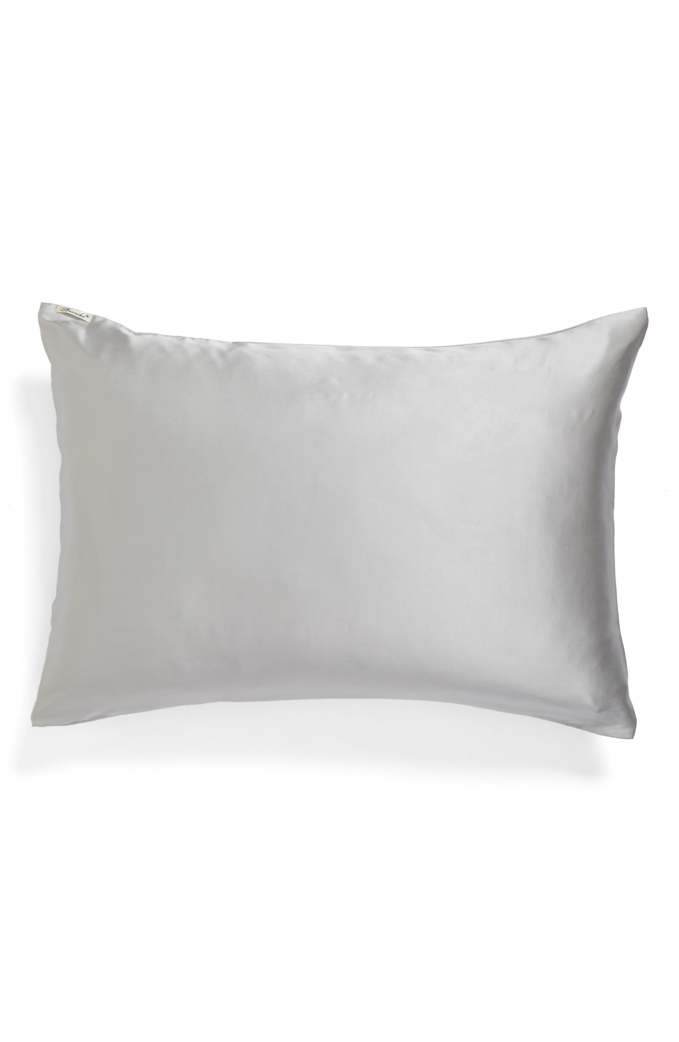 Branché Beauty Silk Charmeuse Pillowcase,                             Main thumbnail 1, color,                             040