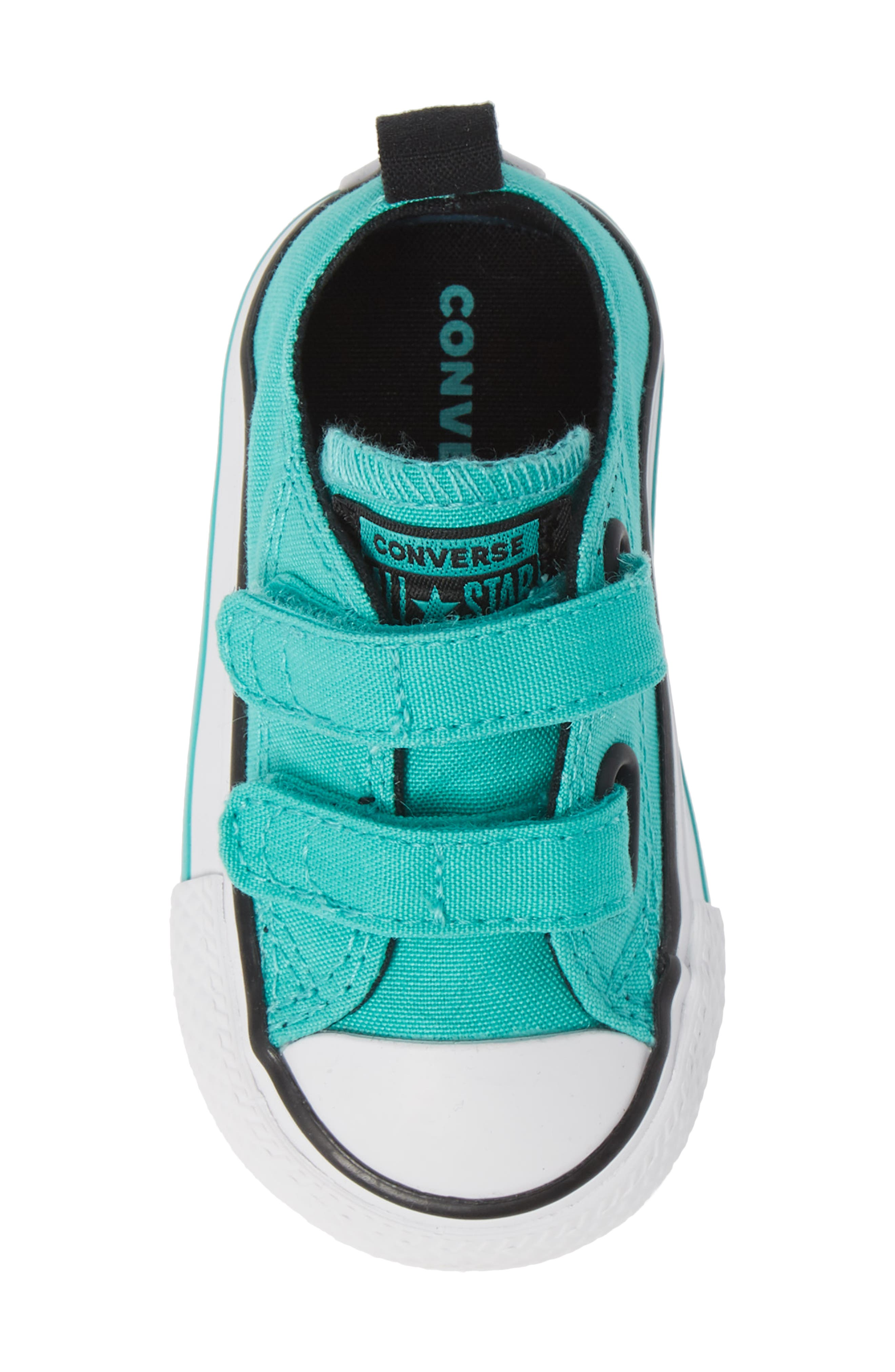 Chuck Taylor<sup>®</sup> 'Double Strap' Sneaker,                             Alternate thumbnail 5, color,                             PURE TEAL