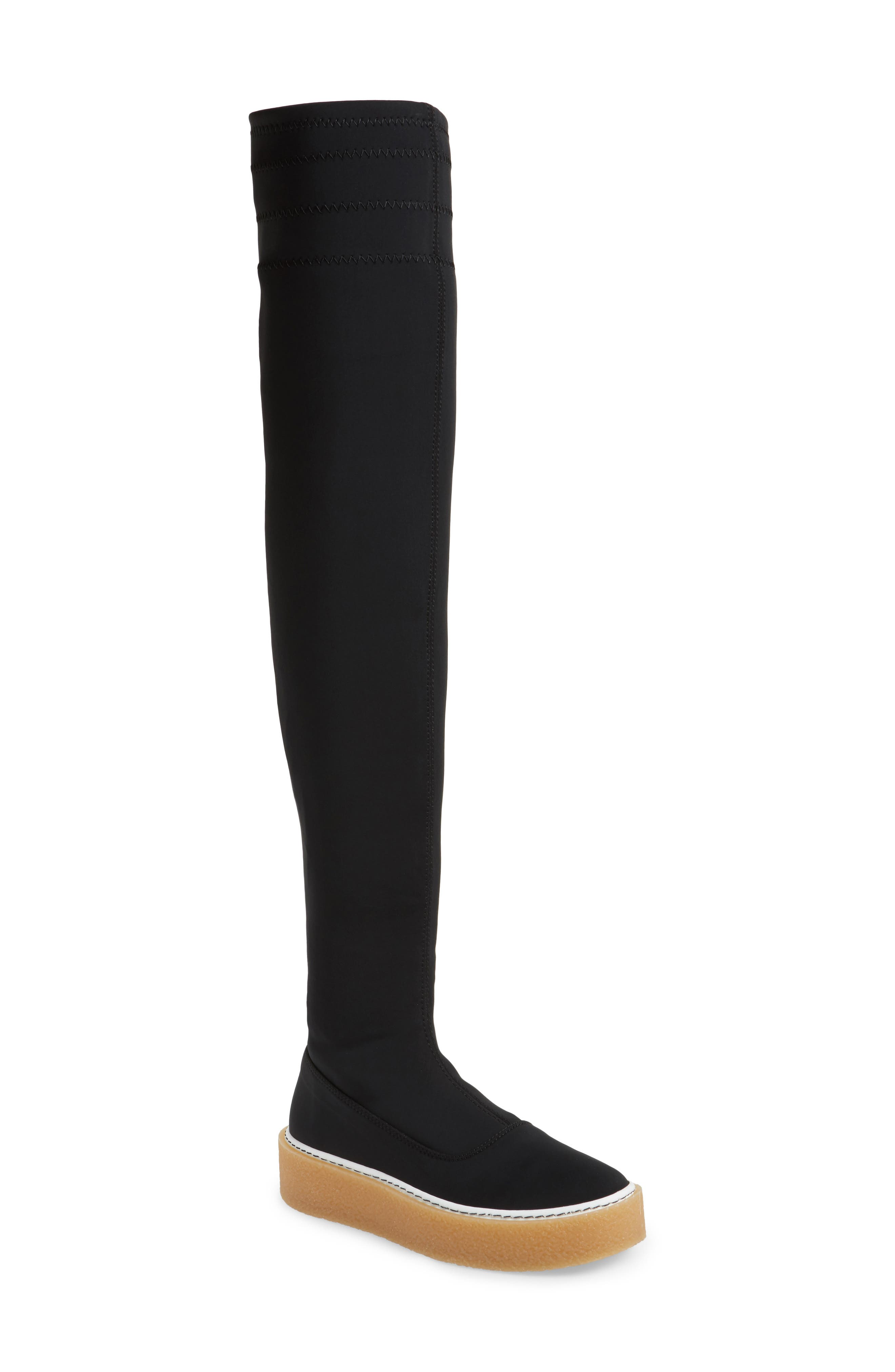 Outer Limits Thigh High Boot,                             Main thumbnail 1, color,                             001