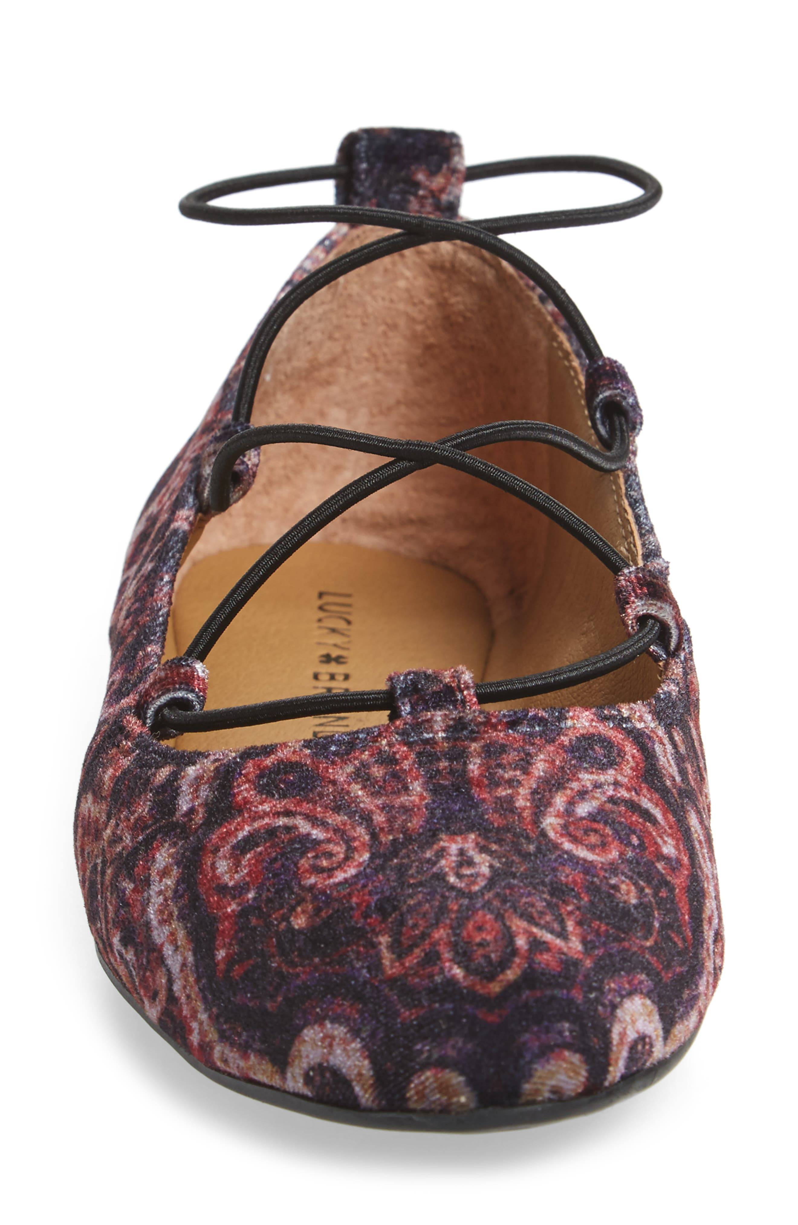 'Aviee' Lace-Up Flat,                             Alternate thumbnail 29, color,