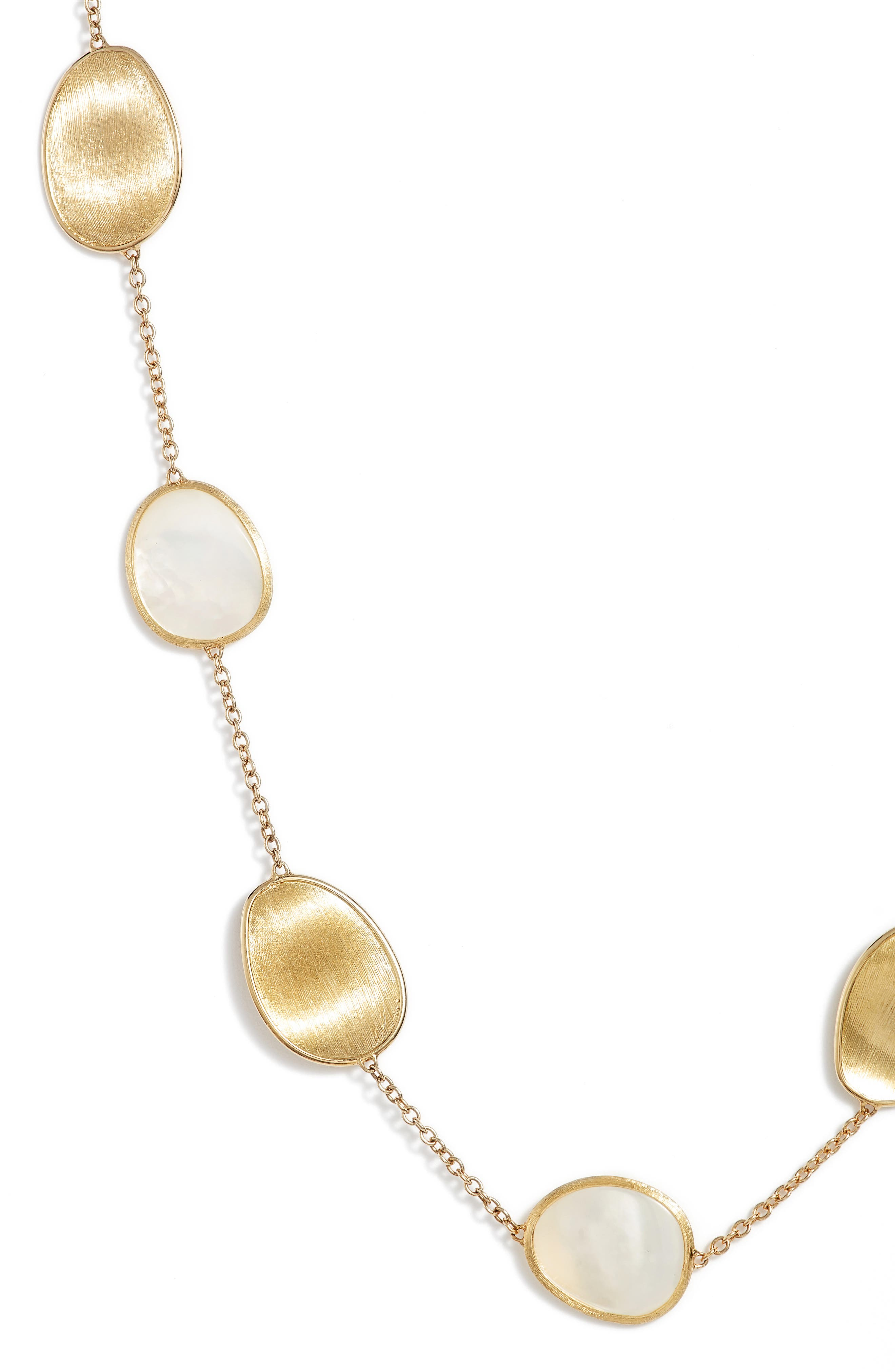 Lunaria Mother of Pearl Long Strand Necklace,                             Alternate thumbnail 2, color,                             WHITE MOTHER OF PEARL