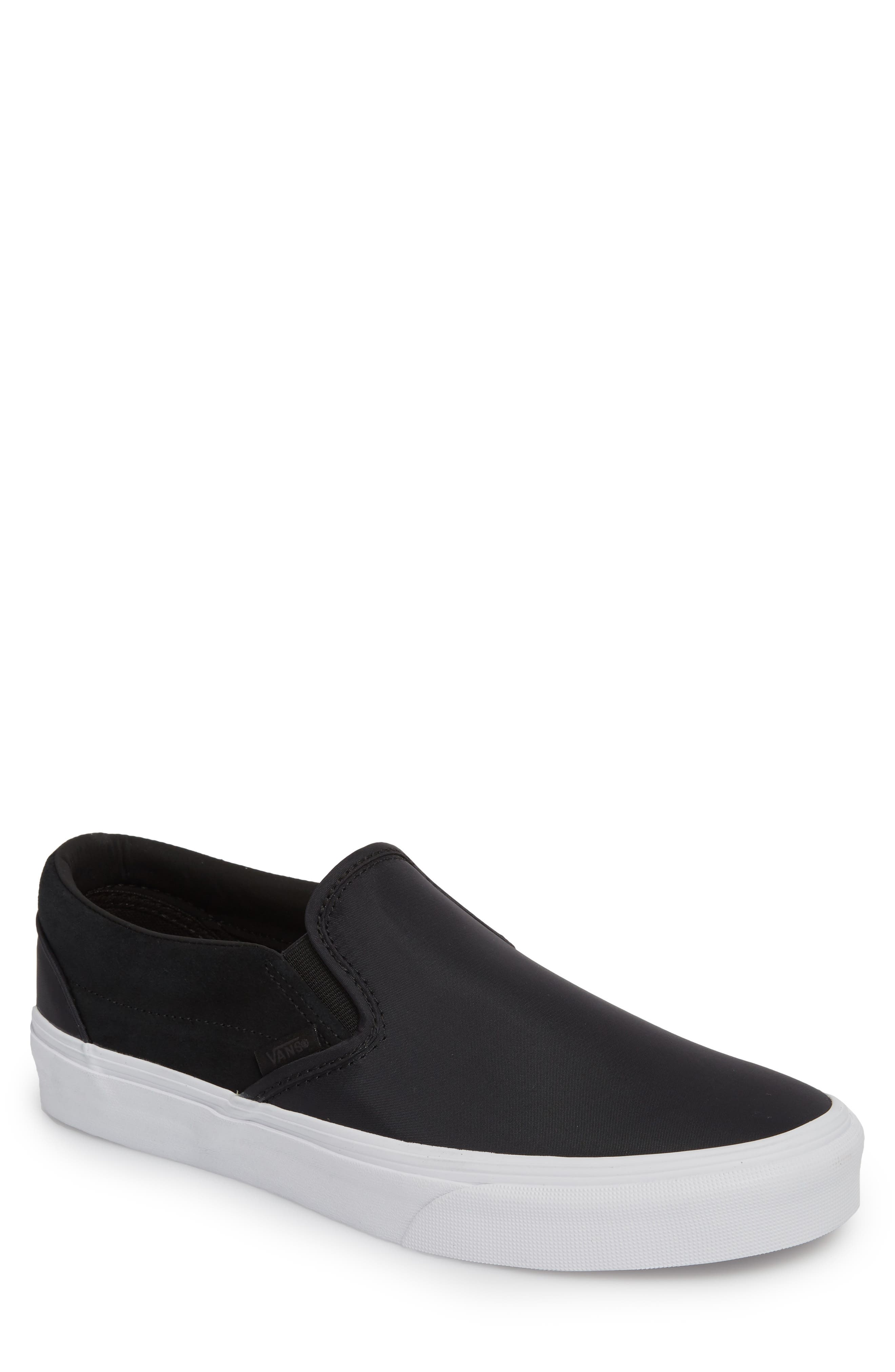 Surplus Nylon Slip-On Sneaker,                             Main thumbnail 1, color,                             001
