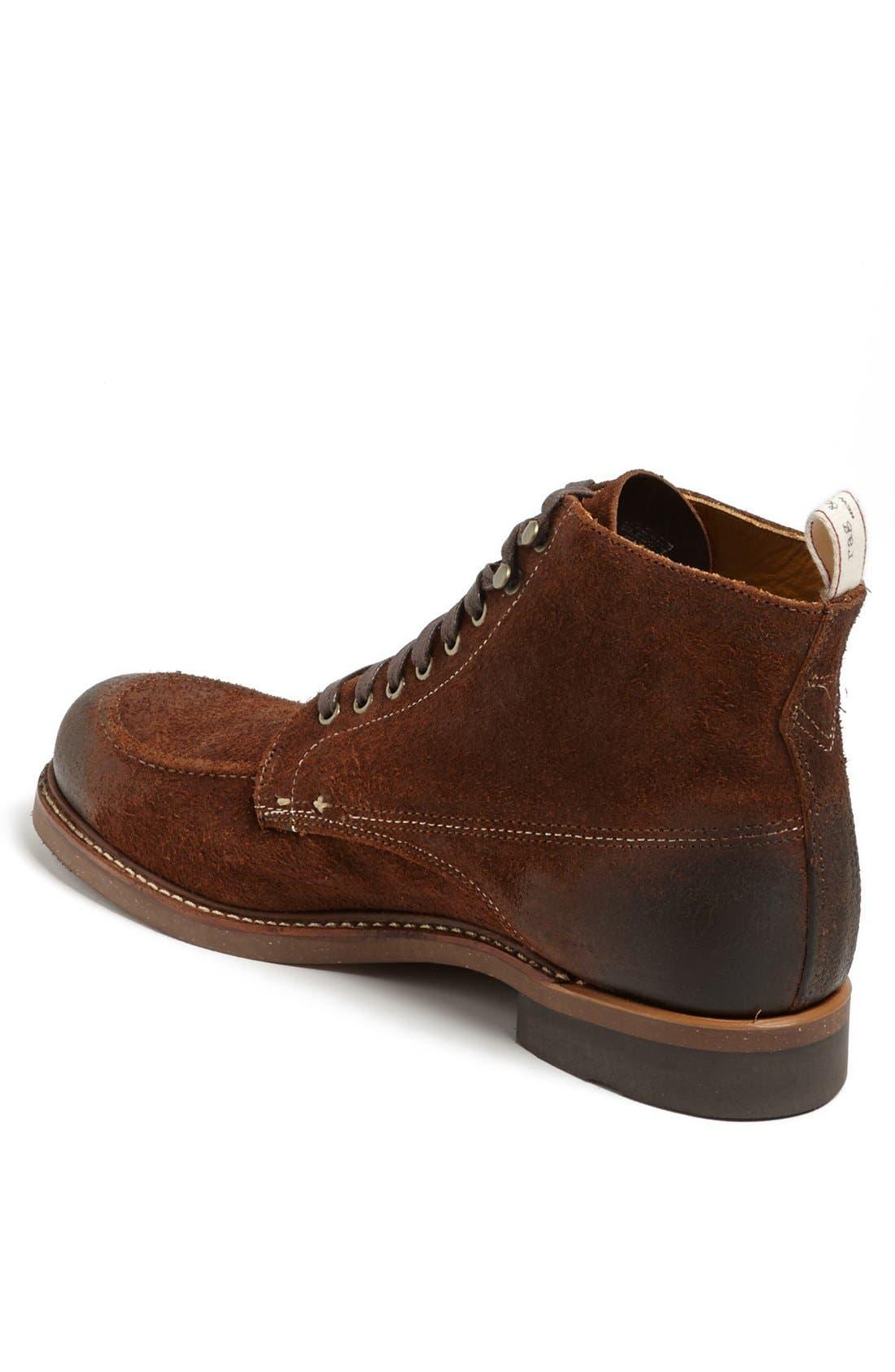 'Rowan' Moc Toe Boot,                             Alternate thumbnail 4, color,                             200