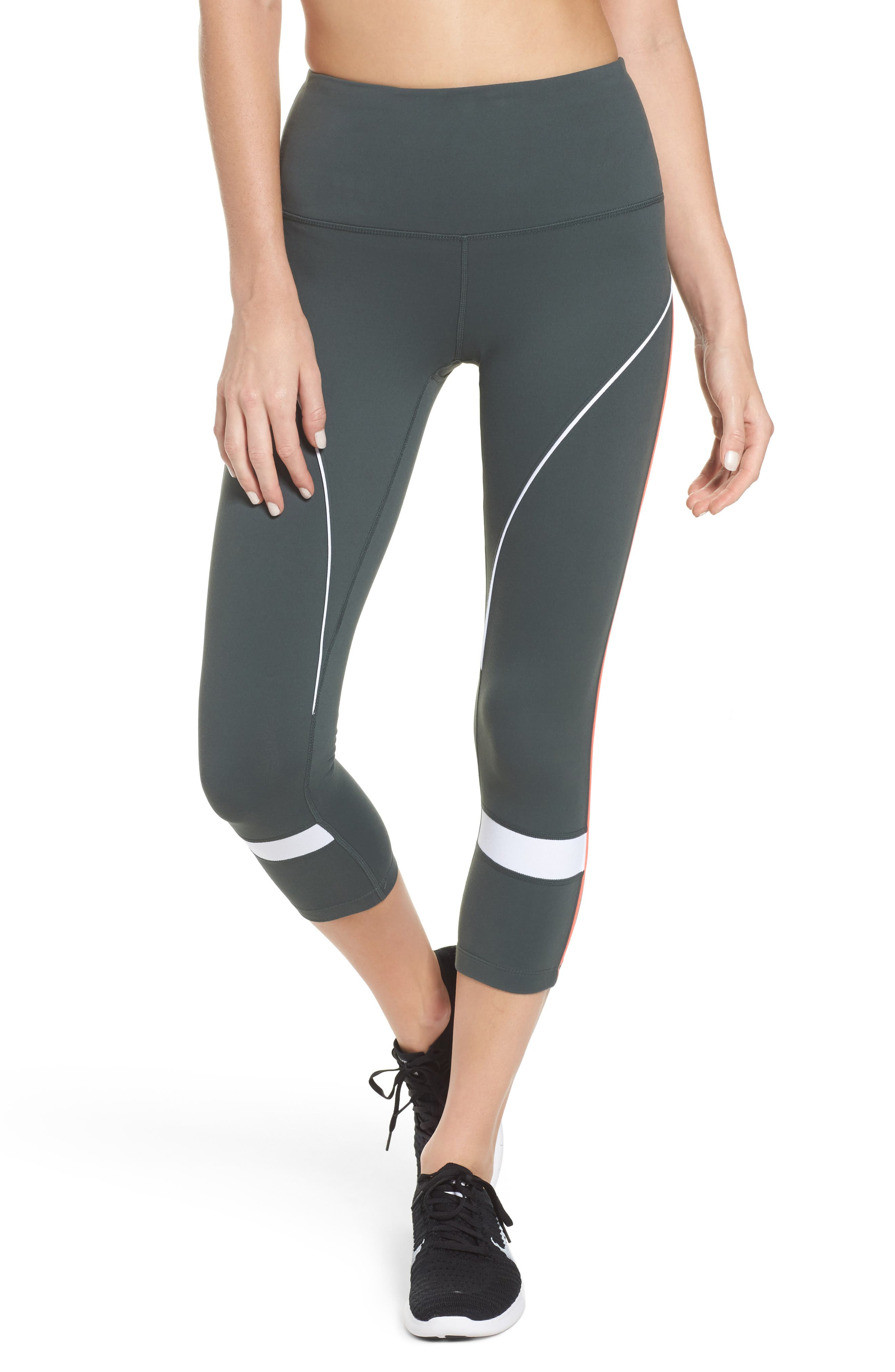 Piper High Waist Crop Leggings,                             Main thumbnail 1, color,                             021