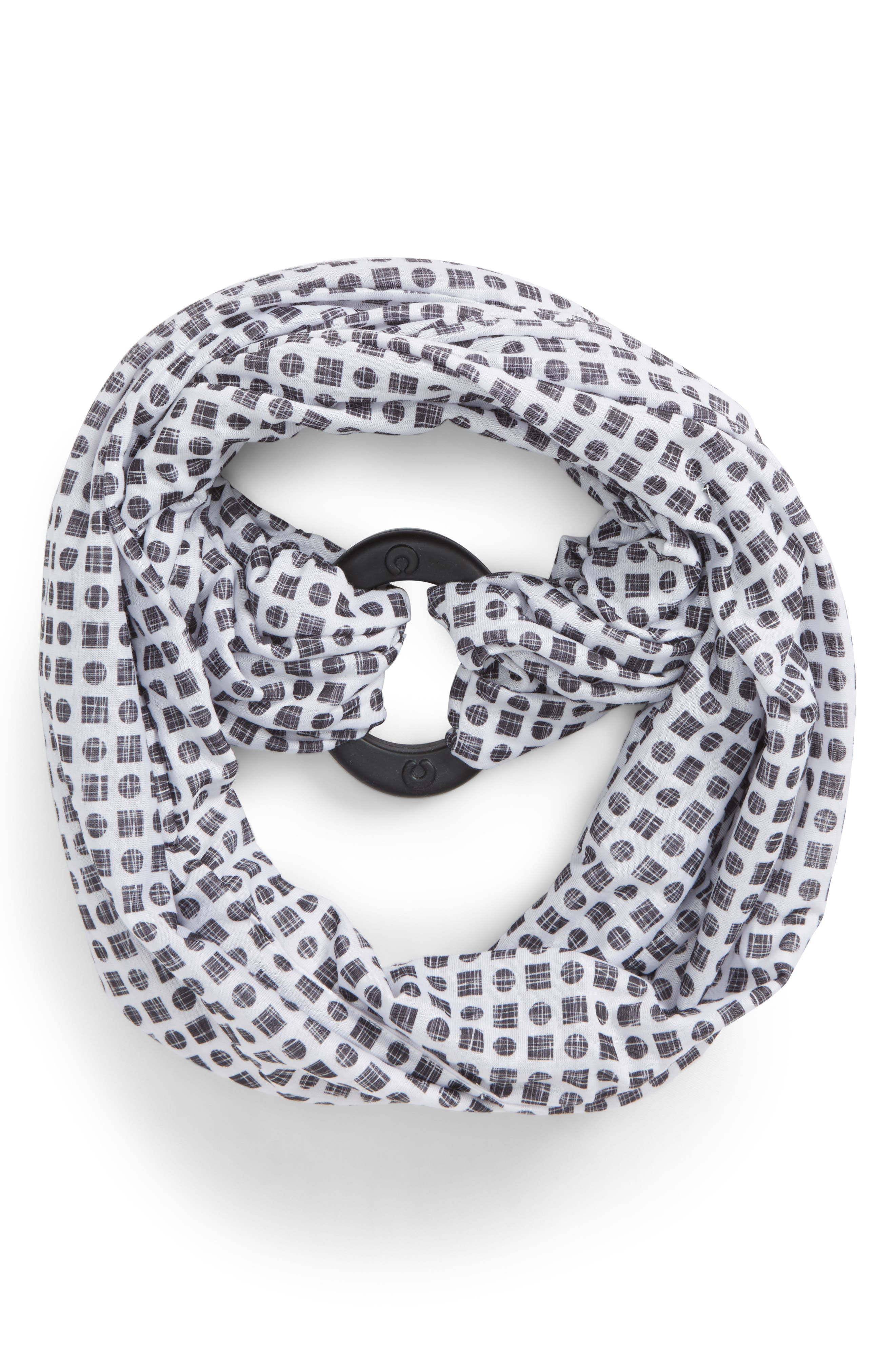 Teething Infinity Scarf,                             Main thumbnail 1, color,                             001