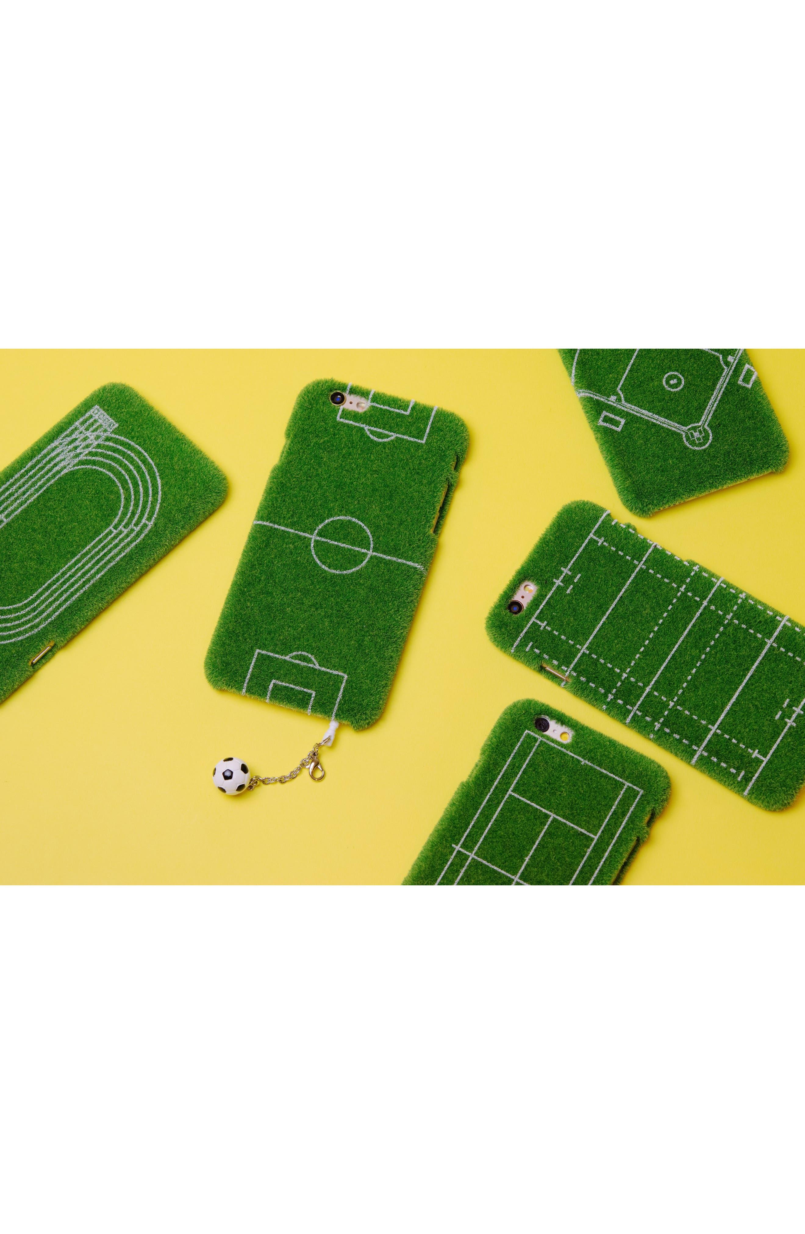 Grand Slam Portable Park iPhone 6/6s & 6/6s Plus Case,                             Alternate thumbnail 4, color,                             GREEN