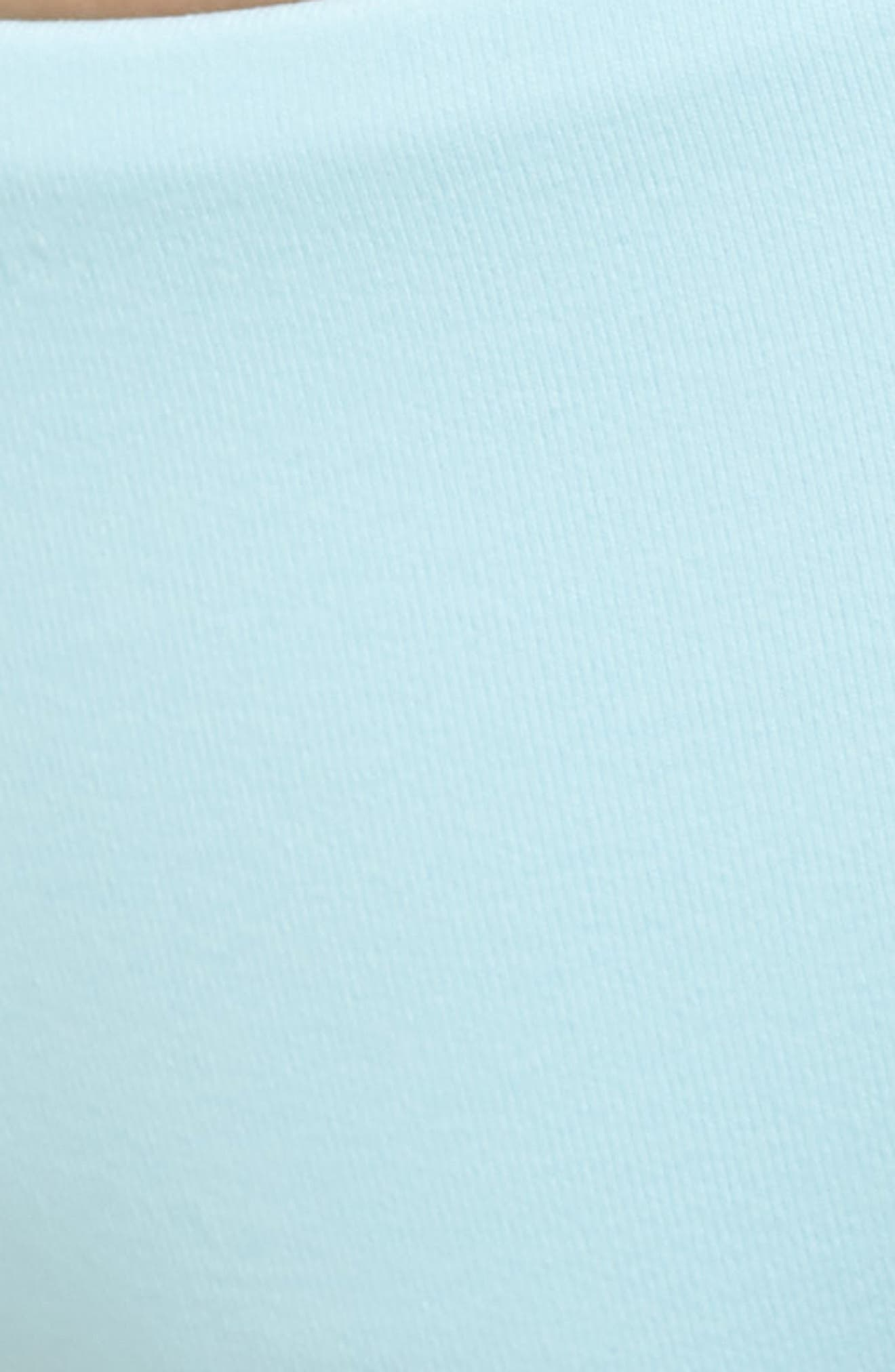 Crystal Blue Sublime Signature Reversible Bikini Bottoms,                             Alternate thumbnail 6, color,                             450