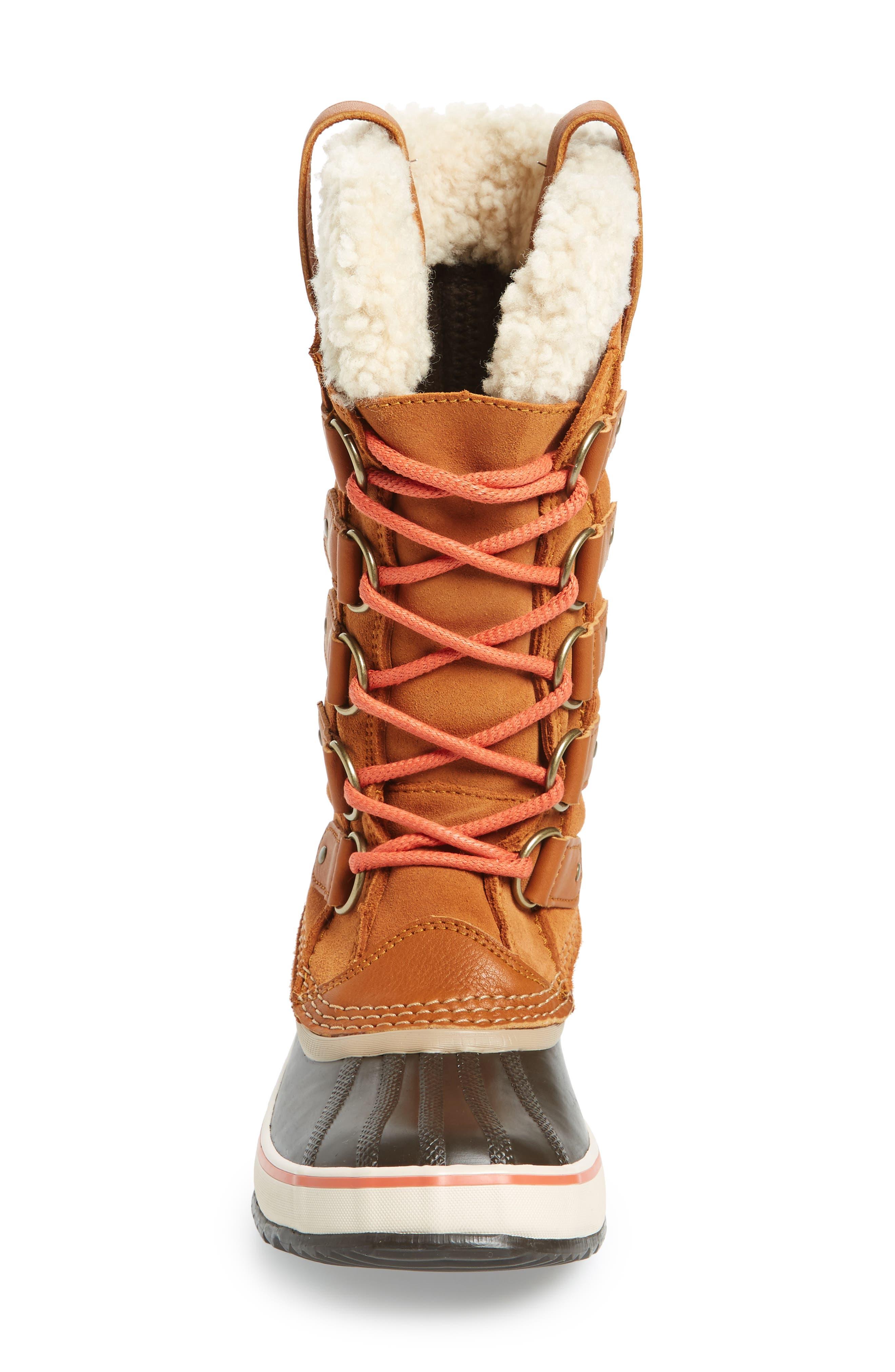 Joan of Arctic Genuine Shearling Waterproof Boot,                             Alternate thumbnail 13, color,