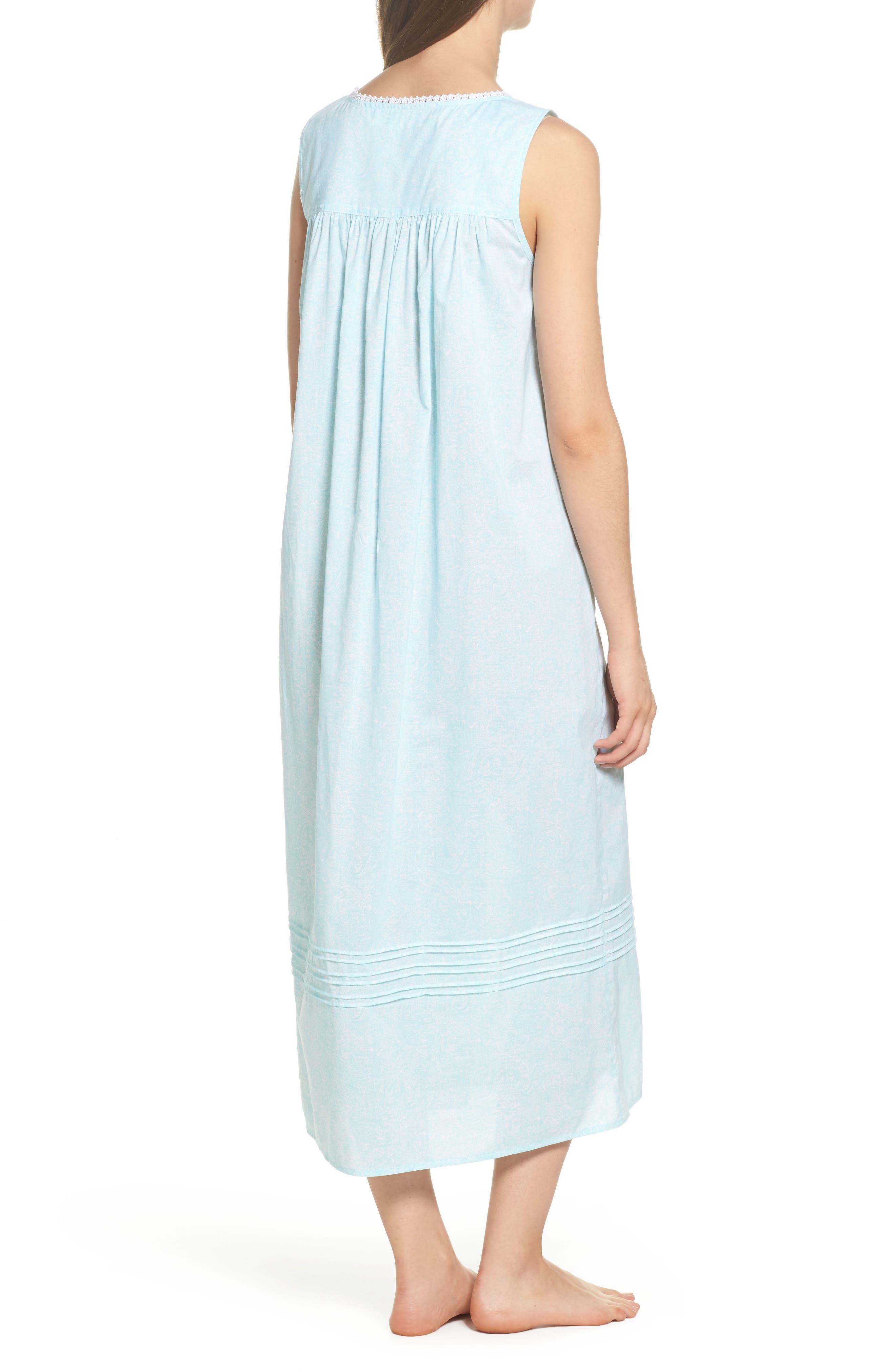 Cotton Lawn Ballet Nightgown,                             Alternate thumbnail 2, color,