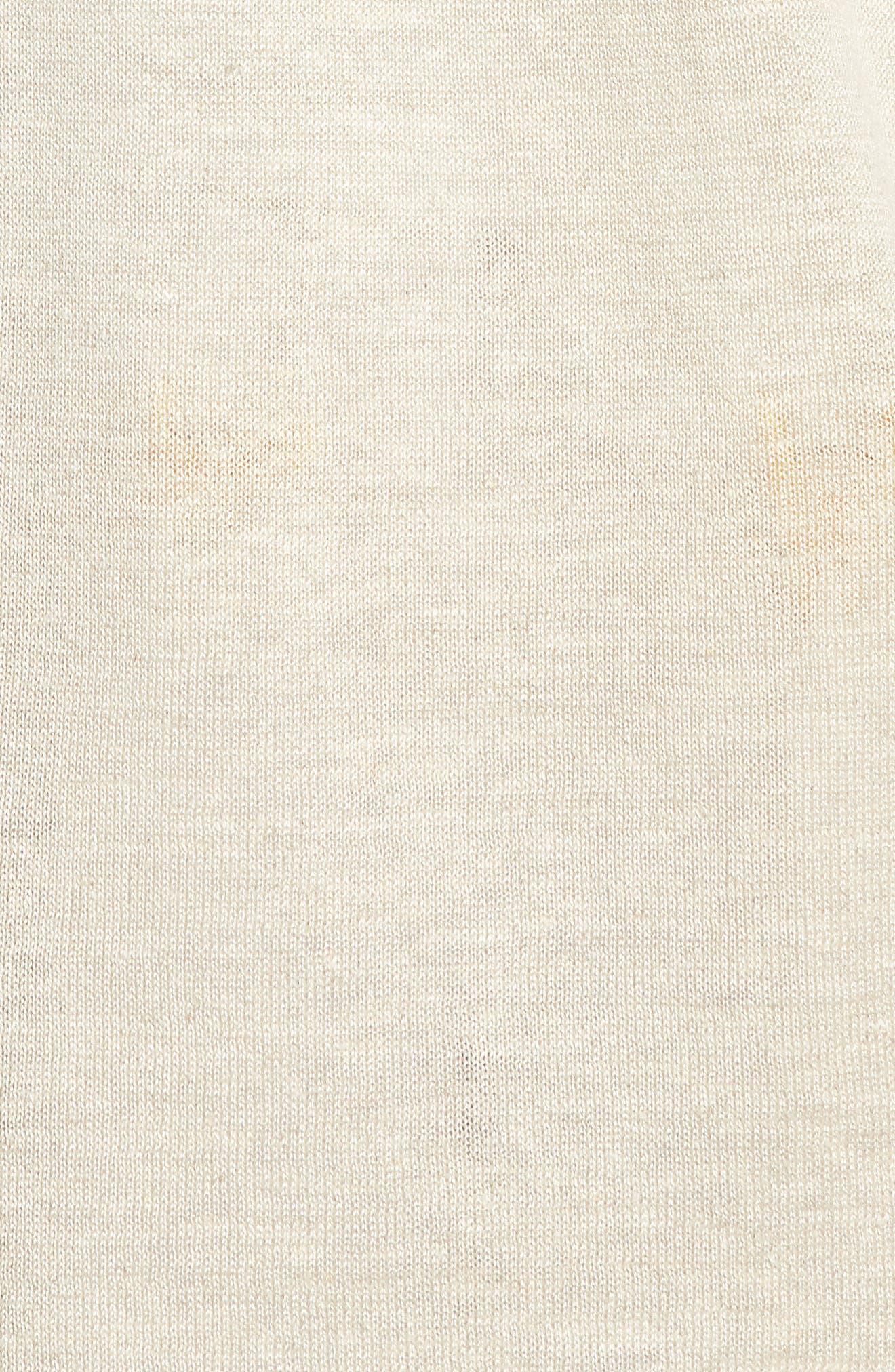 Organic Linen Cardigan,                             Alternate thumbnail 20, color,