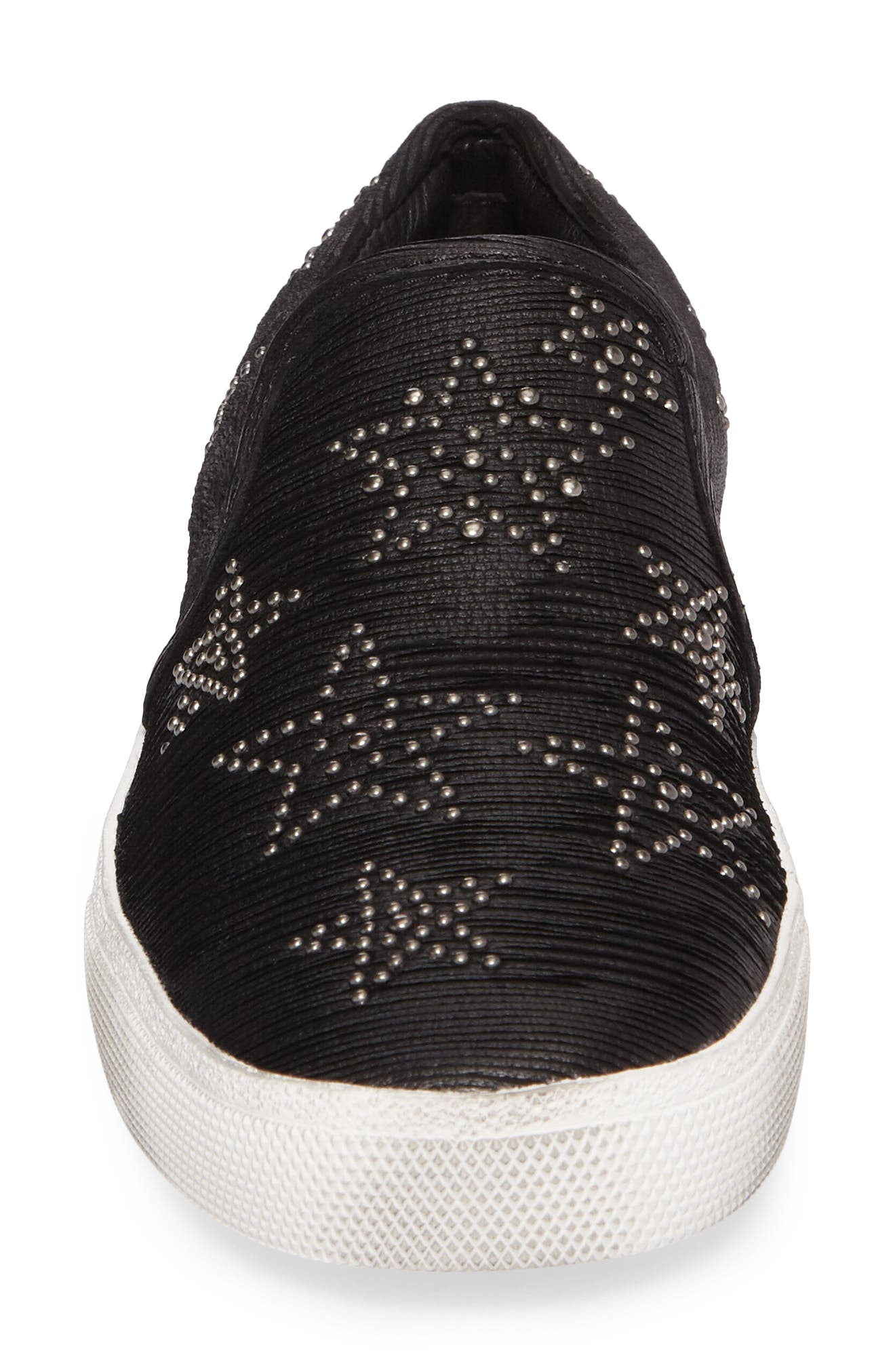 Star Slip-On Sneaker,                             Alternate thumbnail 4, color,                             001
