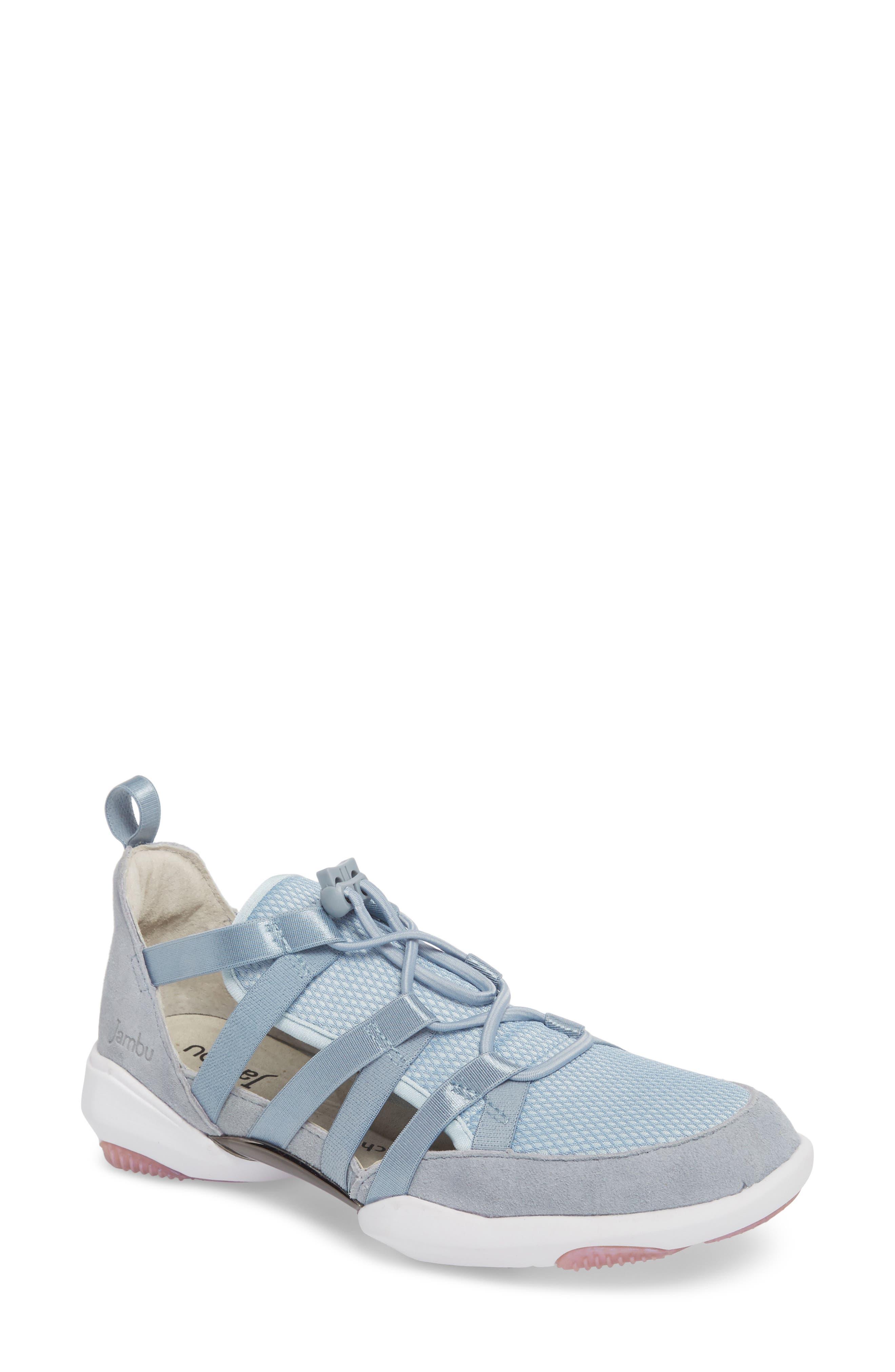 Azalea Sneaker,                             Main thumbnail 1, color,                             BLUE LEATHER