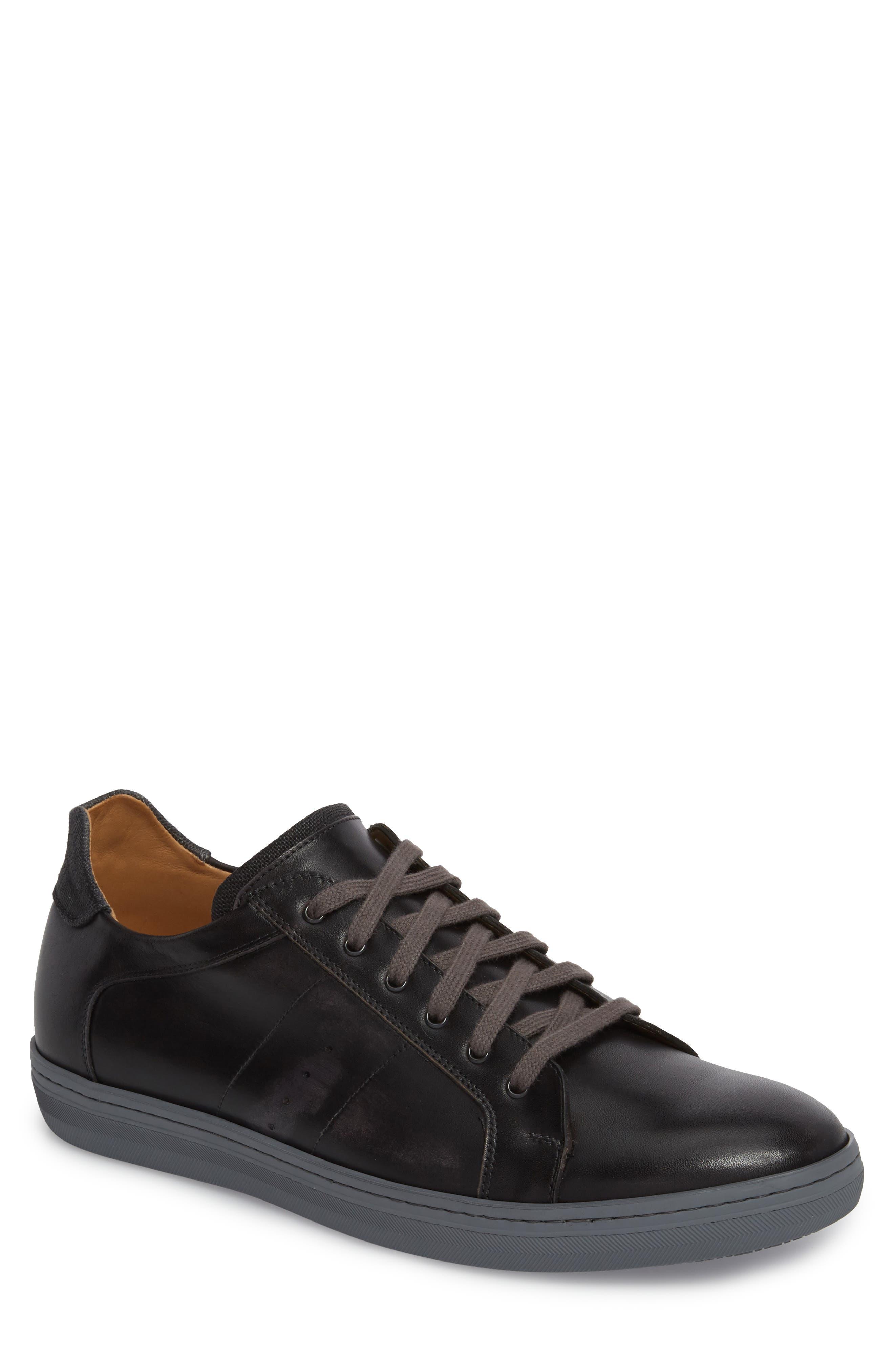 Cuzco Sneaker,                         Main,                         color, GRAPHITE/ BLACK LEATHER