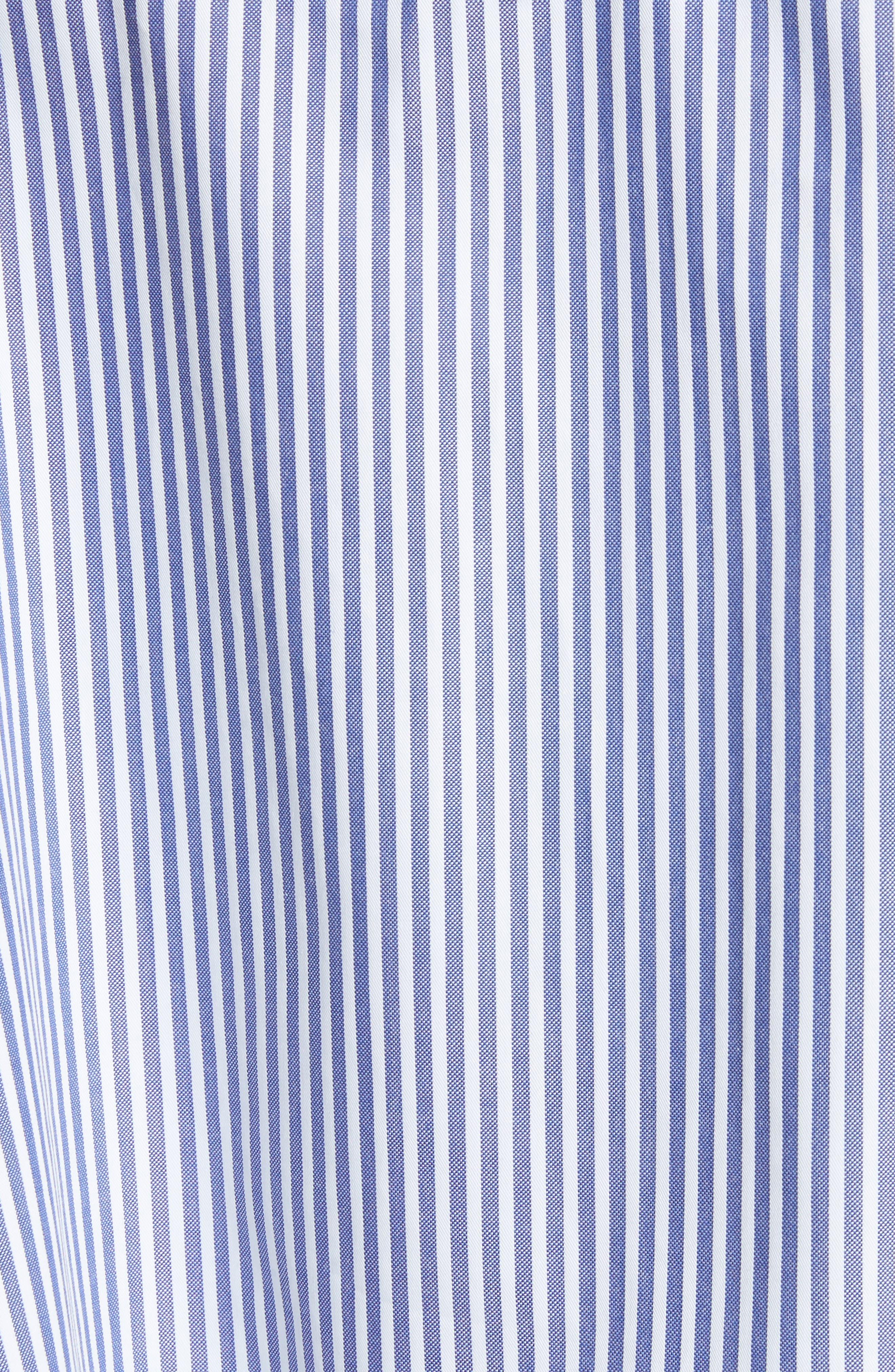 Stripe Cotton Swing Tank,                             Alternate thumbnail 5, color,                             450