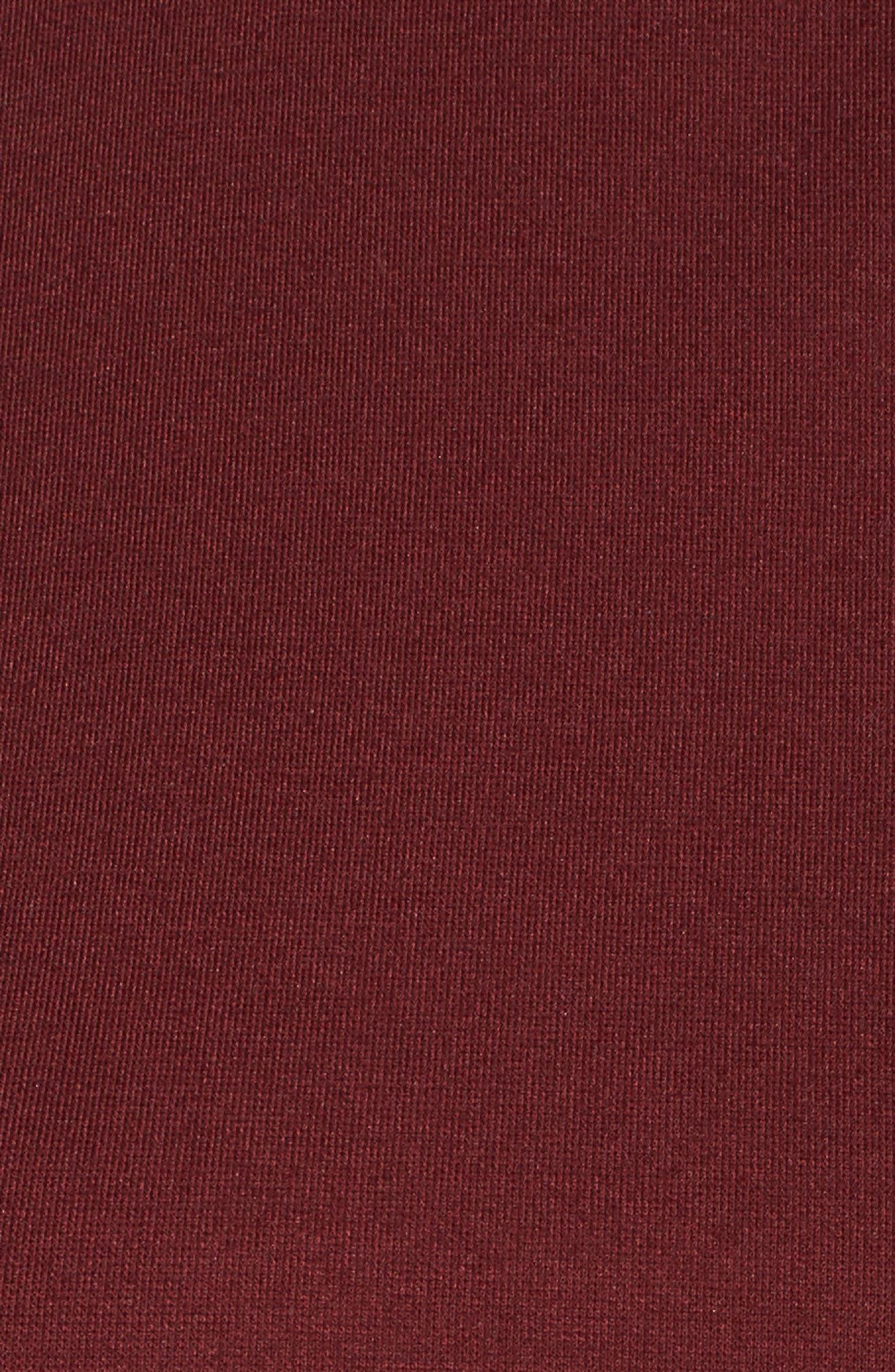 Chiffon Hem Top,                             Alternate thumbnail 5, color,                             601