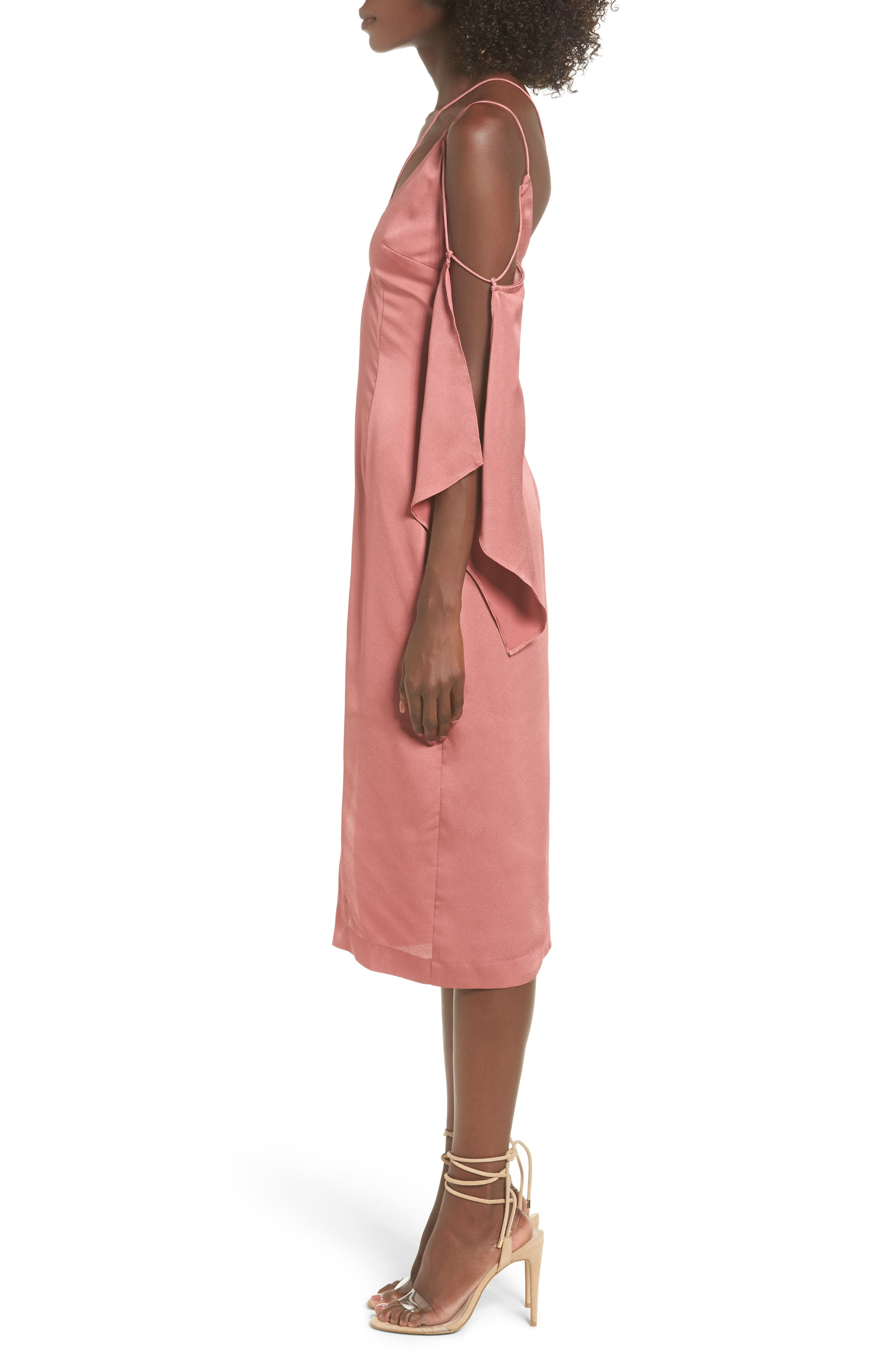 Raindrops Midi Dress,                             Alternate thumbnail 6, color,
