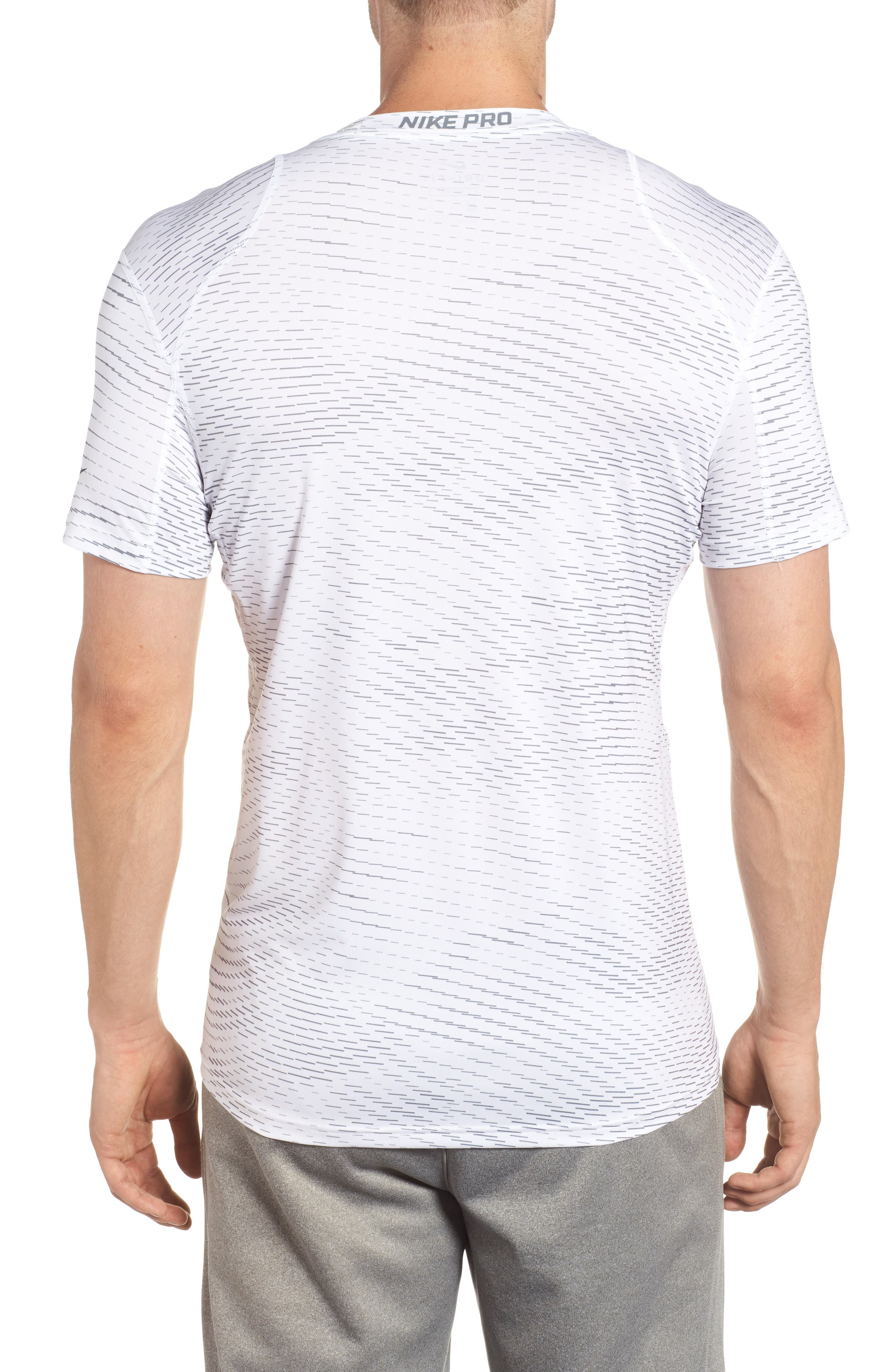 Fitted Athletic T-Shirt,                             Alternate thumbnail 5, color,