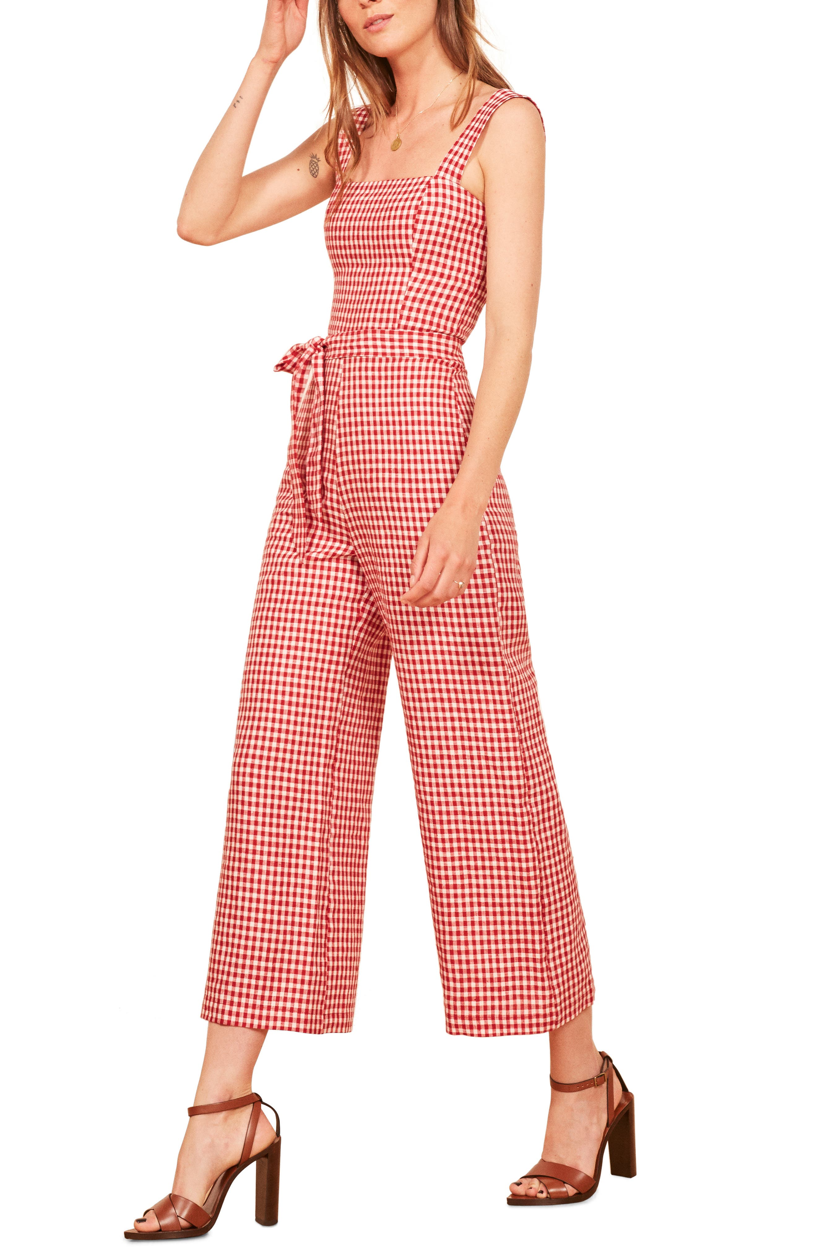 Birch Jumpsuit,                         Main,                         color, MAY CHECK
