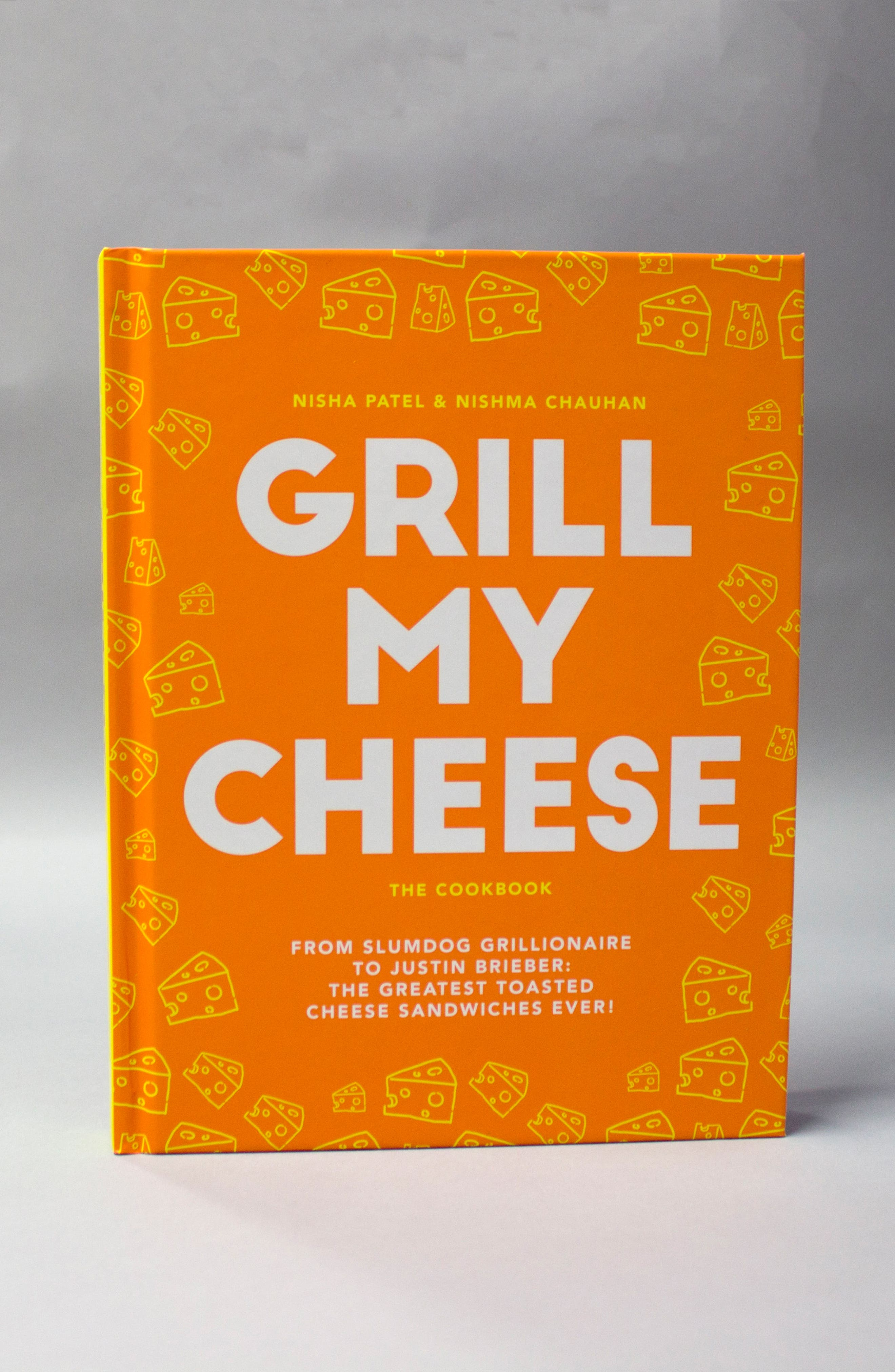 Grill My Cheese Cookbook,                             Alternate thumbnail 2, color,                             YELLOW