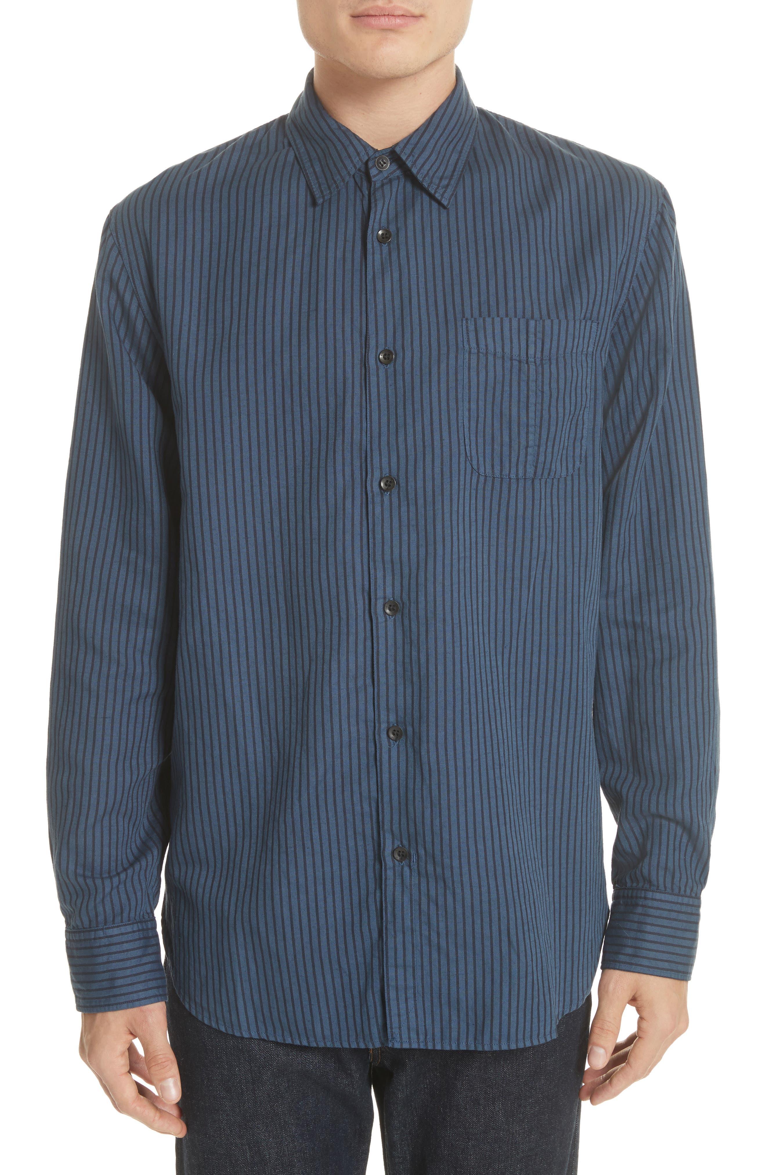 Beach Fit 3 Stripe Shirt,                             Main thumbnail 1, color,                             416