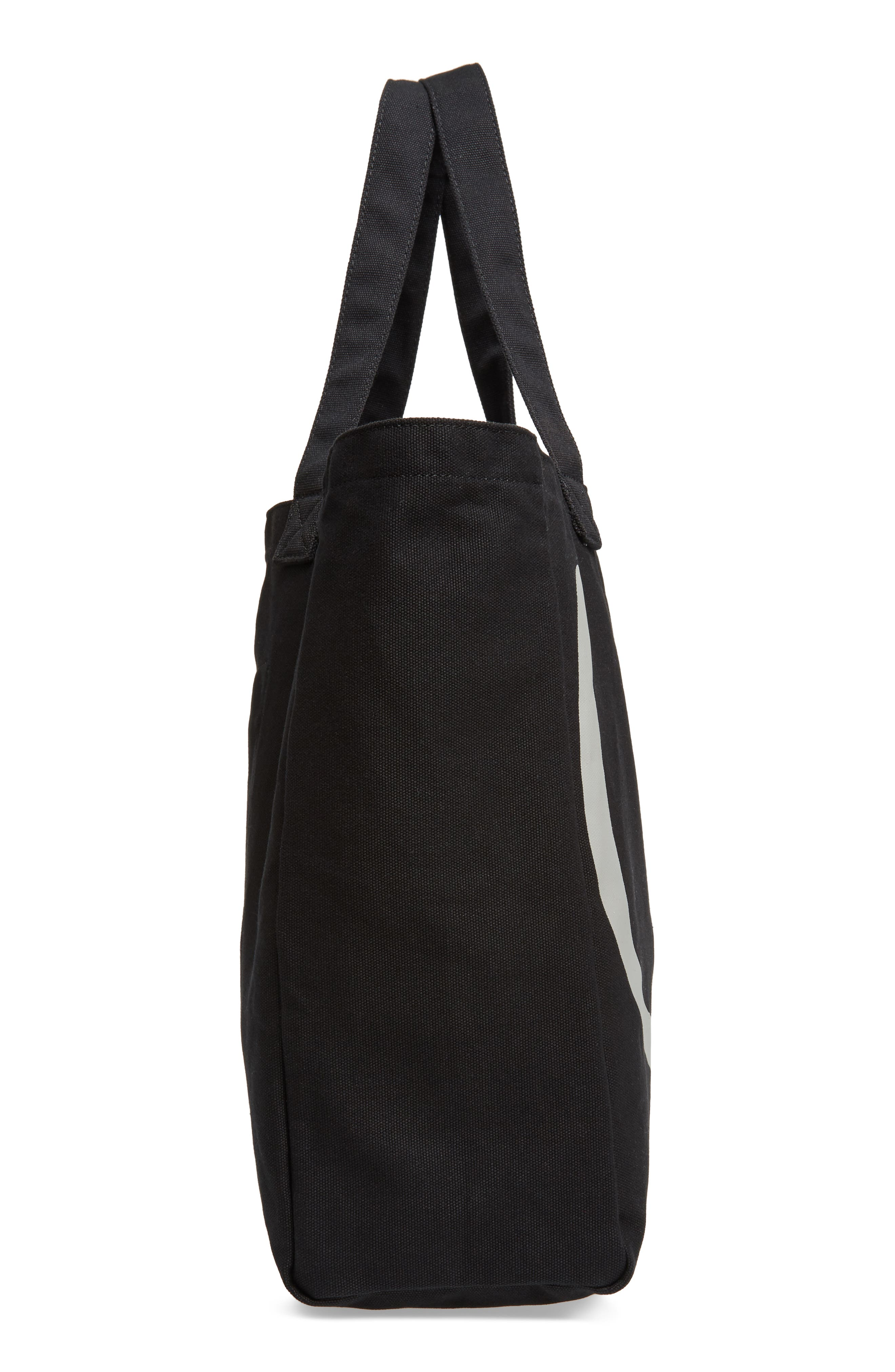 Oversized Canvas Tote,                             Alternate thumbnail 13, color,
