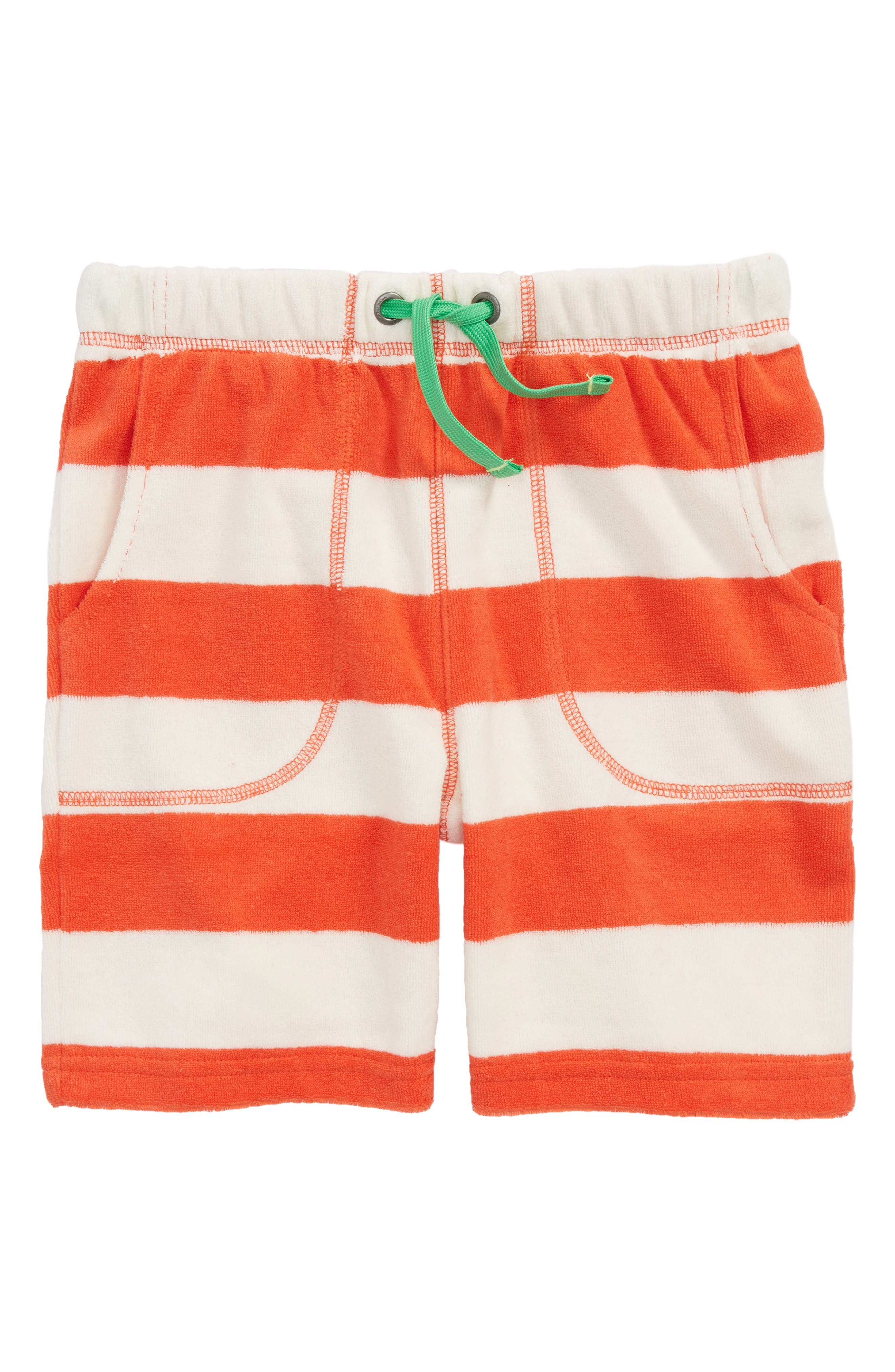Stripe Toweling Shorts,                             Main thumbnail 1, color,                             600