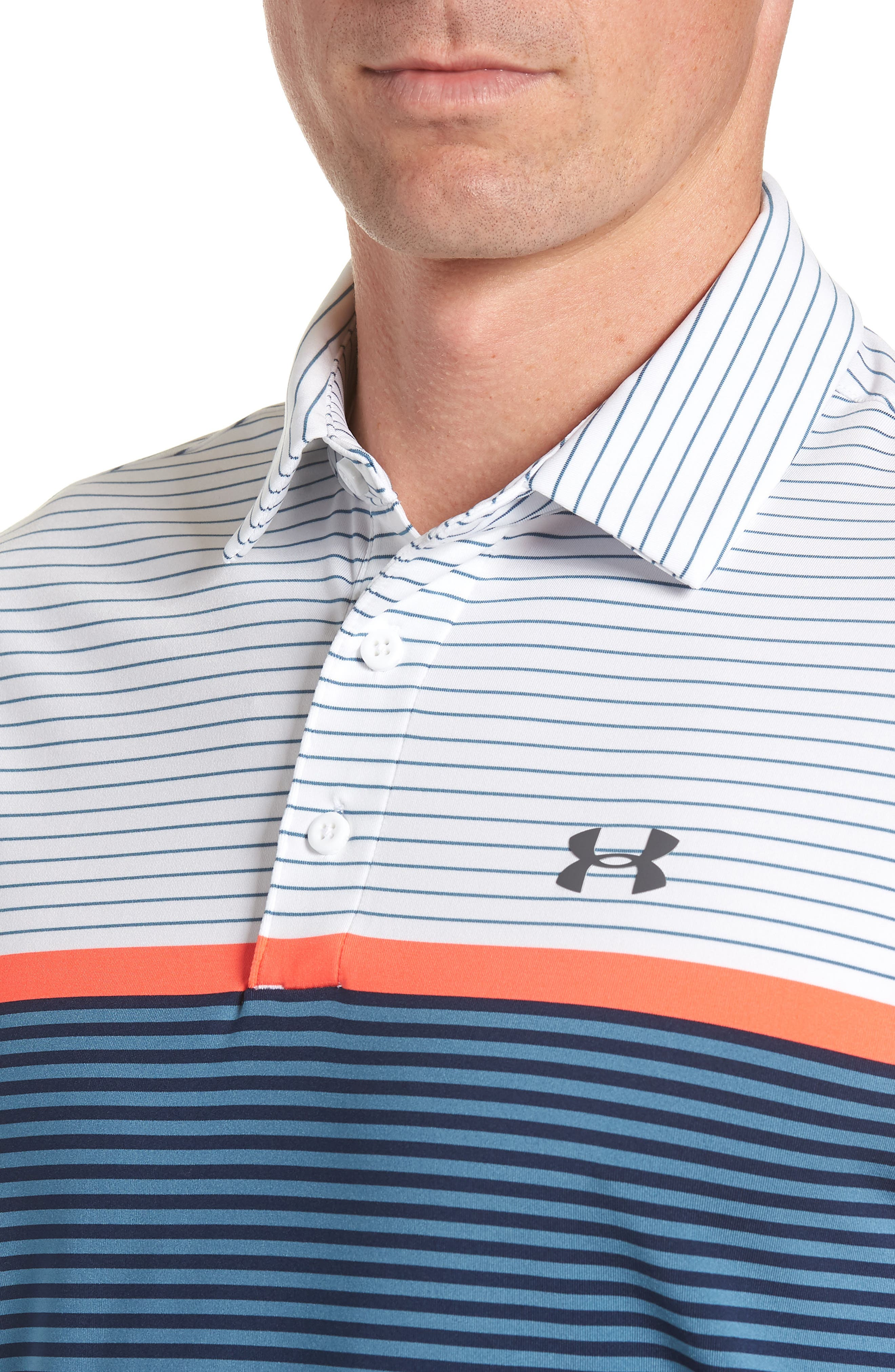 'Playoff' Loose Fit Short Sleeve Polo,                             Alternate thumbnail 179, color,