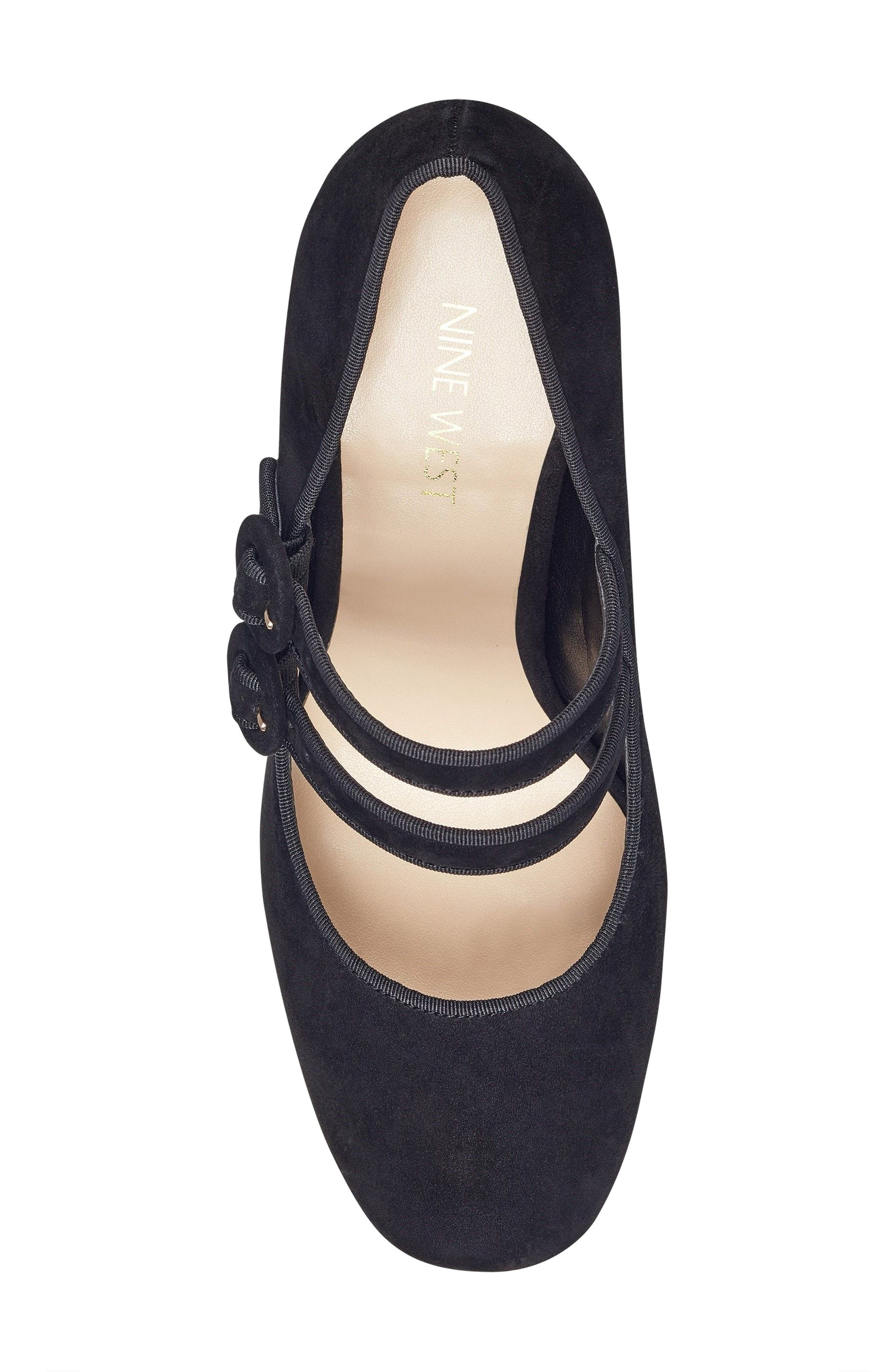 Dabney Double Strap Mary Jane Pump,                             Alternate thumbnail 17, color,