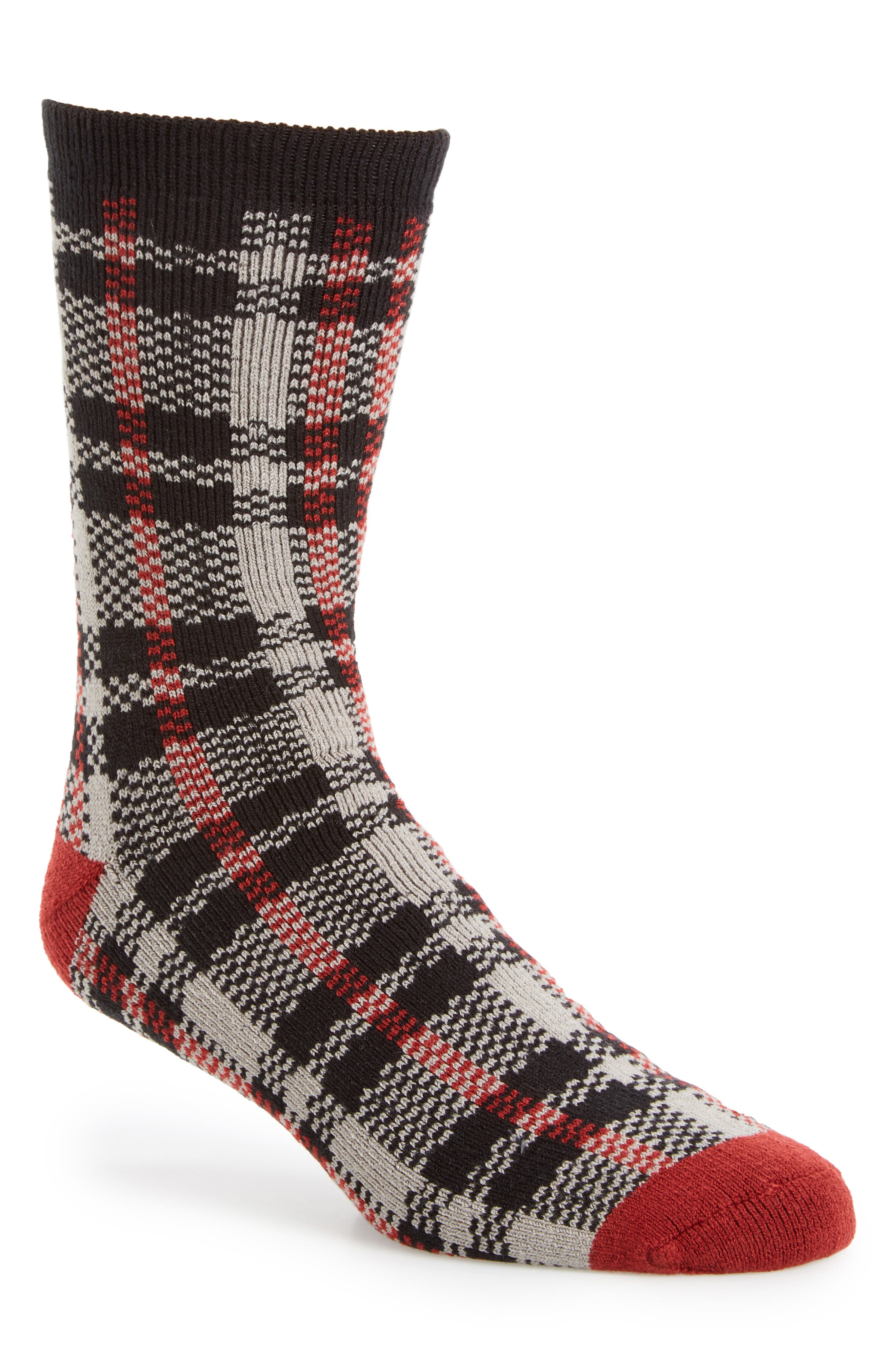 Plaid Socks,                             Main thumbnail 1, color,                             005
