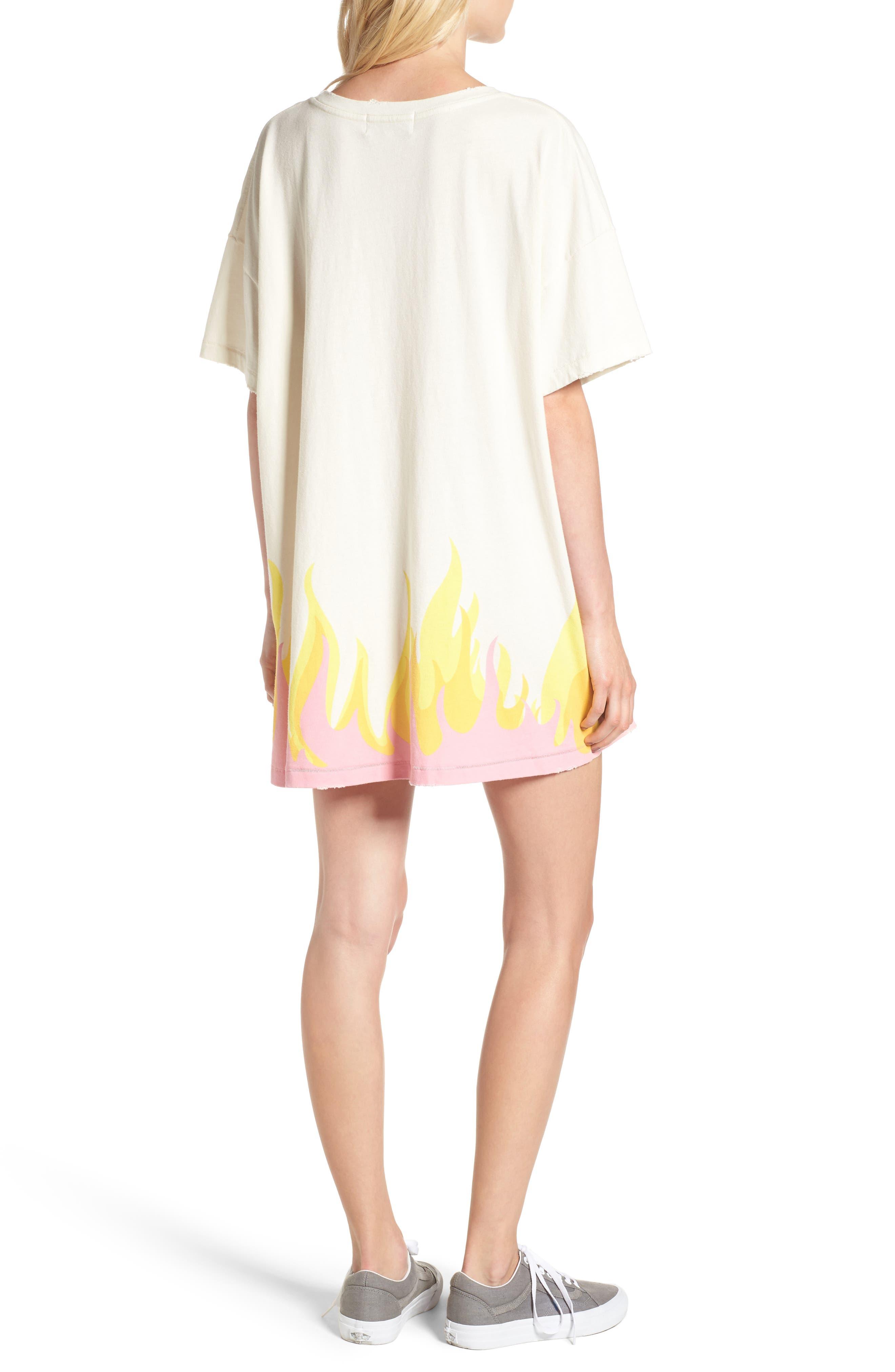 Wildfire T-Shirt Dress,                             Alternate thumbnail 2, color,                             901
