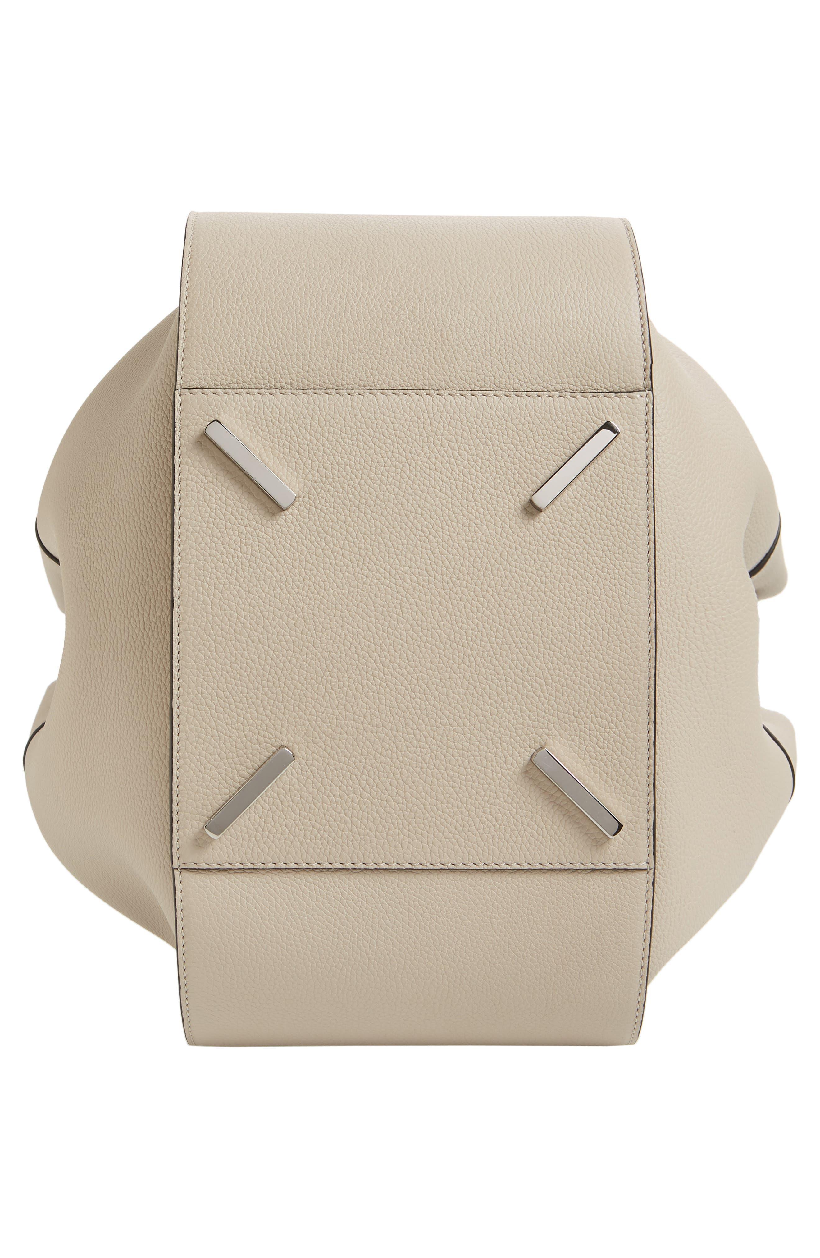 LOEWE,                             Medium Hammock Pebbled Leather Hobo,                             Alternate thumbnail 6, color,                             LIGHT OAT