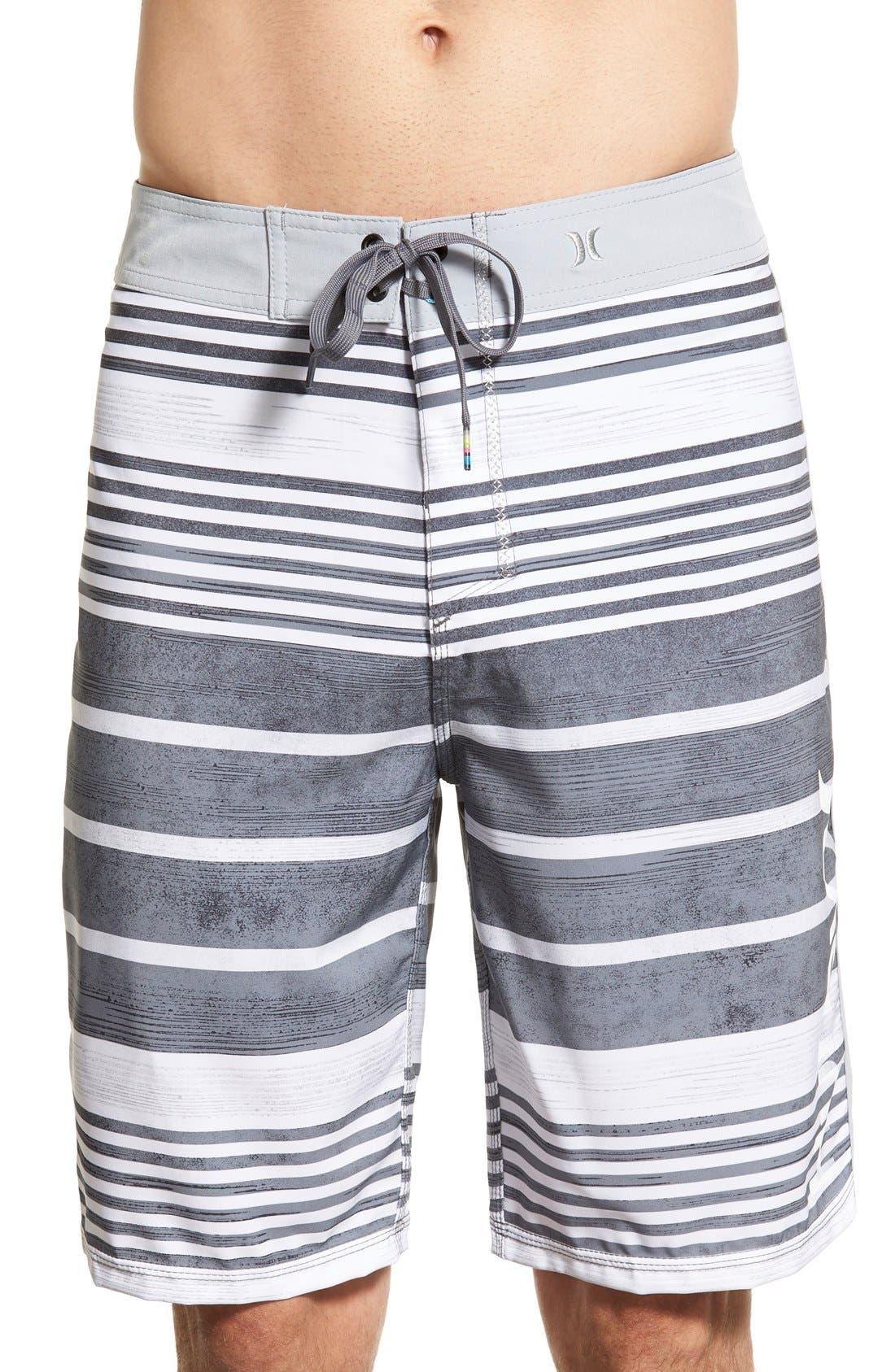 'Phantom Hightide' Water-Repellent Board Shorts, Main, color, 060