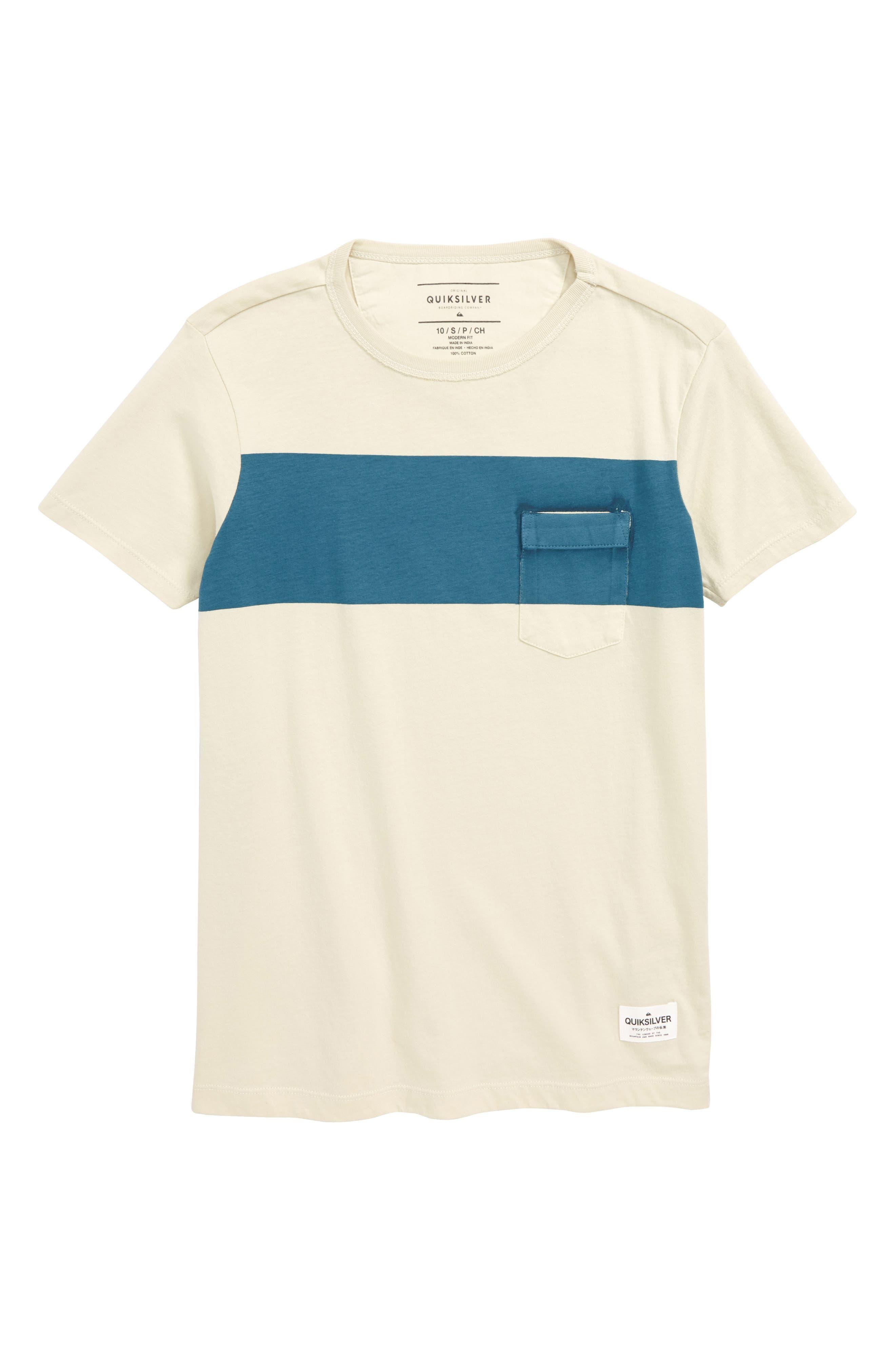 Sobu Lines Pocket T-Shirt,                             Main thumbnail 1, color,                             400