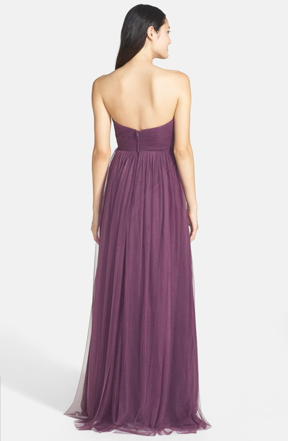 Annabelle Convertible Tulle Column Dress,                             Alternate thumbnail 179, color,