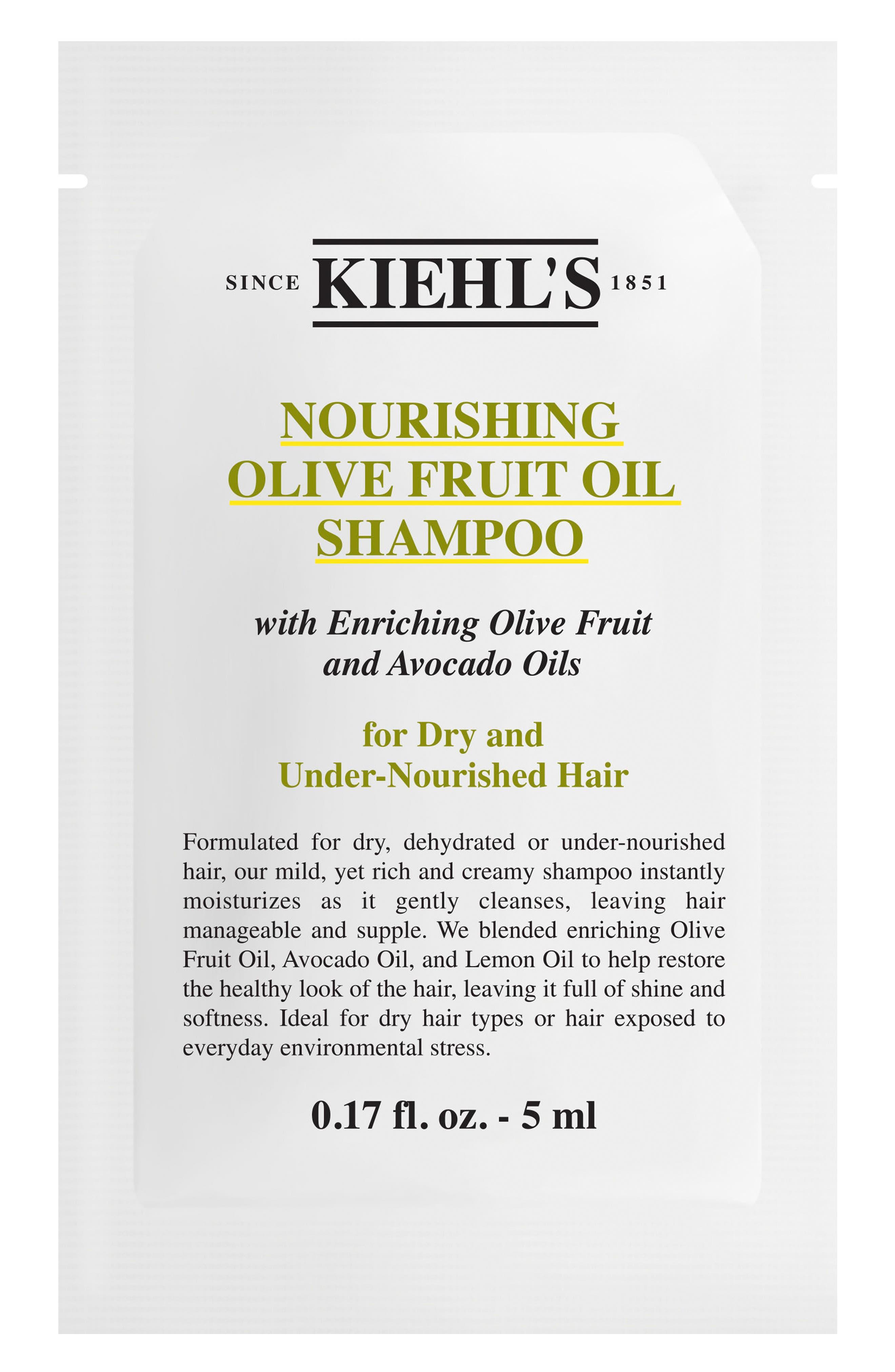 Olive Fruit Oil Nourishing Shampoo,                             Alternate thumbnail 6, color,                             NO COLOR
