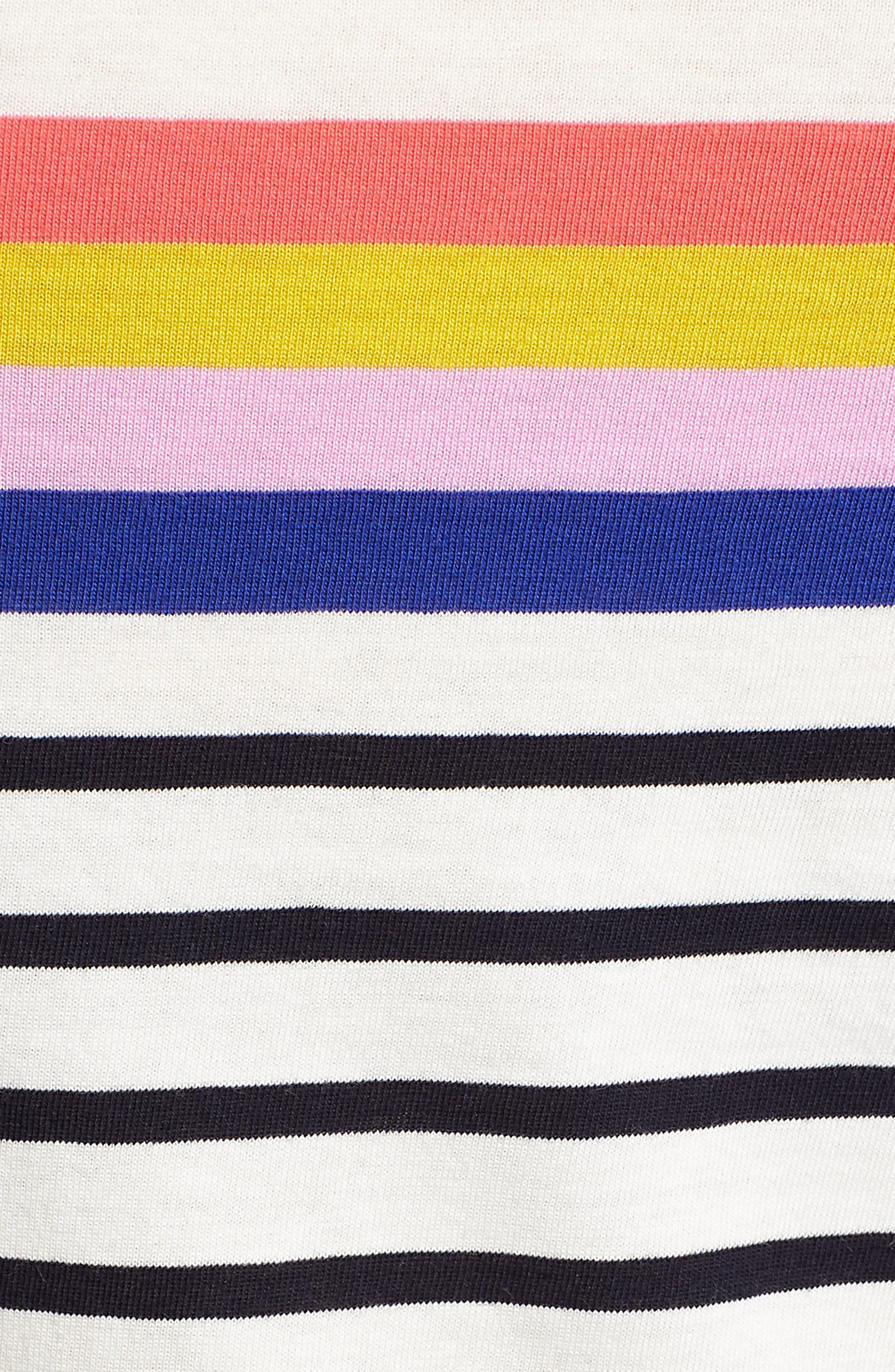 Breton Short Sleeve Stripe Cotton Top,                             Alternate thumbnail 25, color,