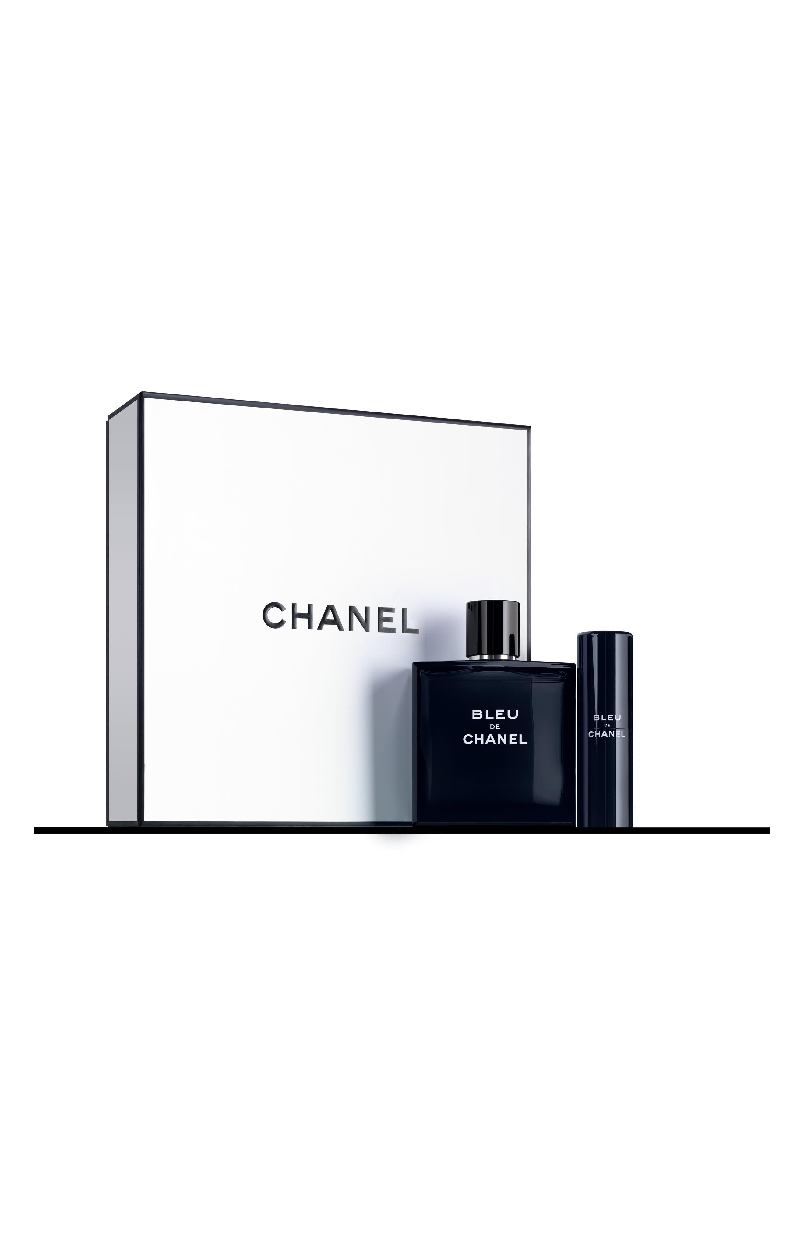 CHANEL BLEU DE CHANEL<br />5oz. Eau de Toilette Travel Spray Set, Main, color, NO COLOR