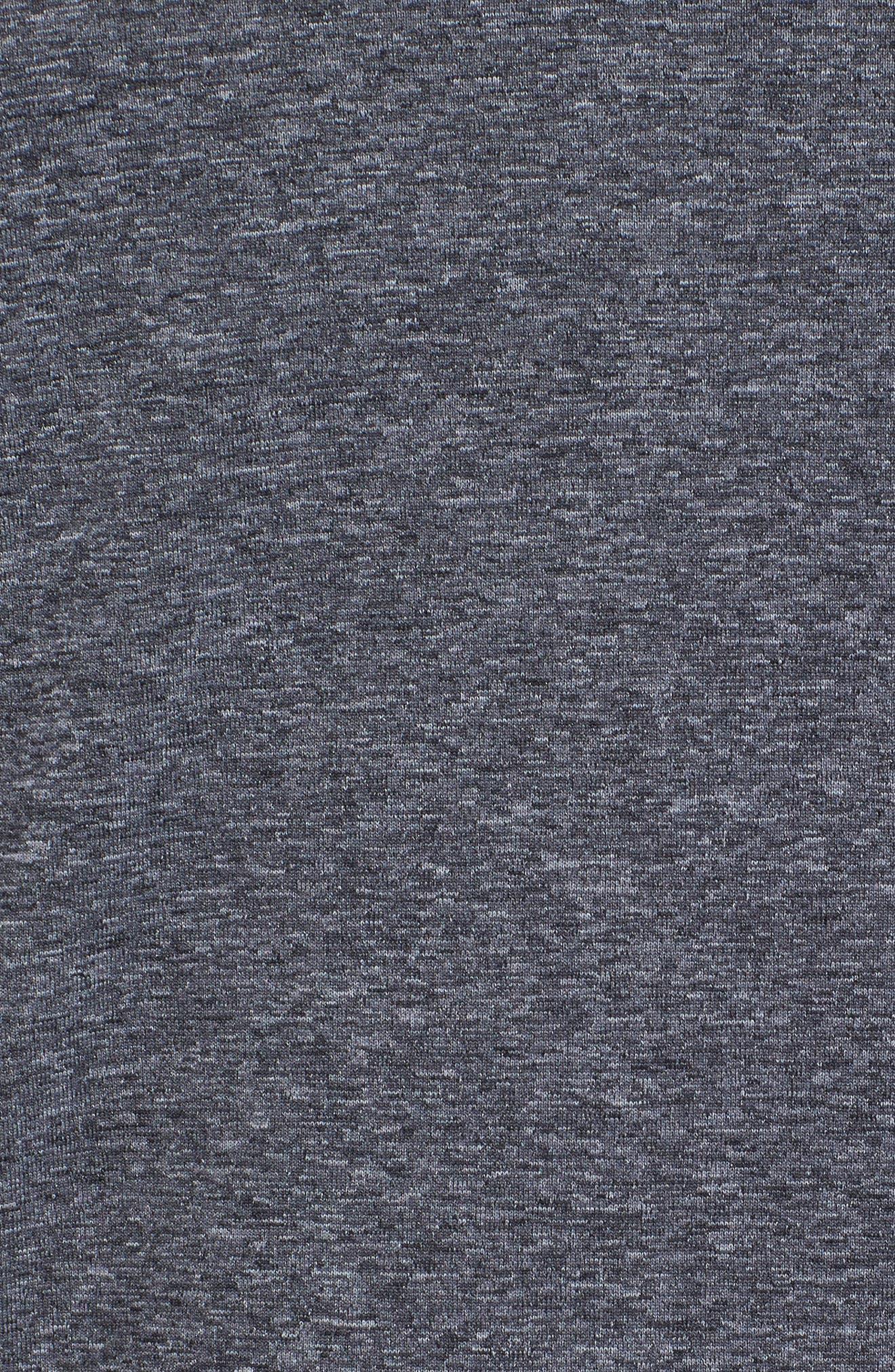 Vapor Performance T-Shirt,                             Alternate thumbnail 5, color,                             ASPHALT