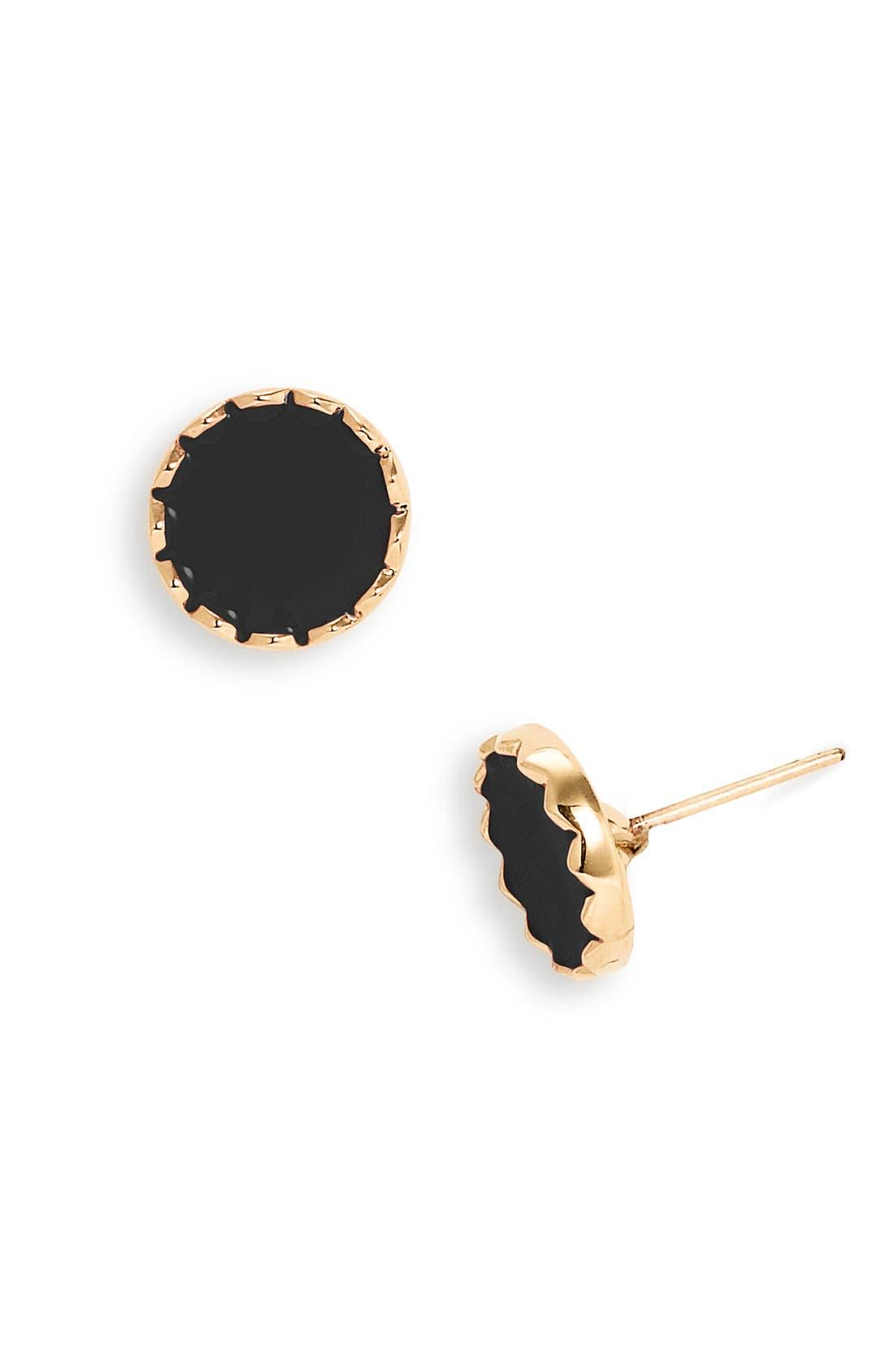 'dot to dot' stud earrings,                             Main thumbnail 1, color,                             001