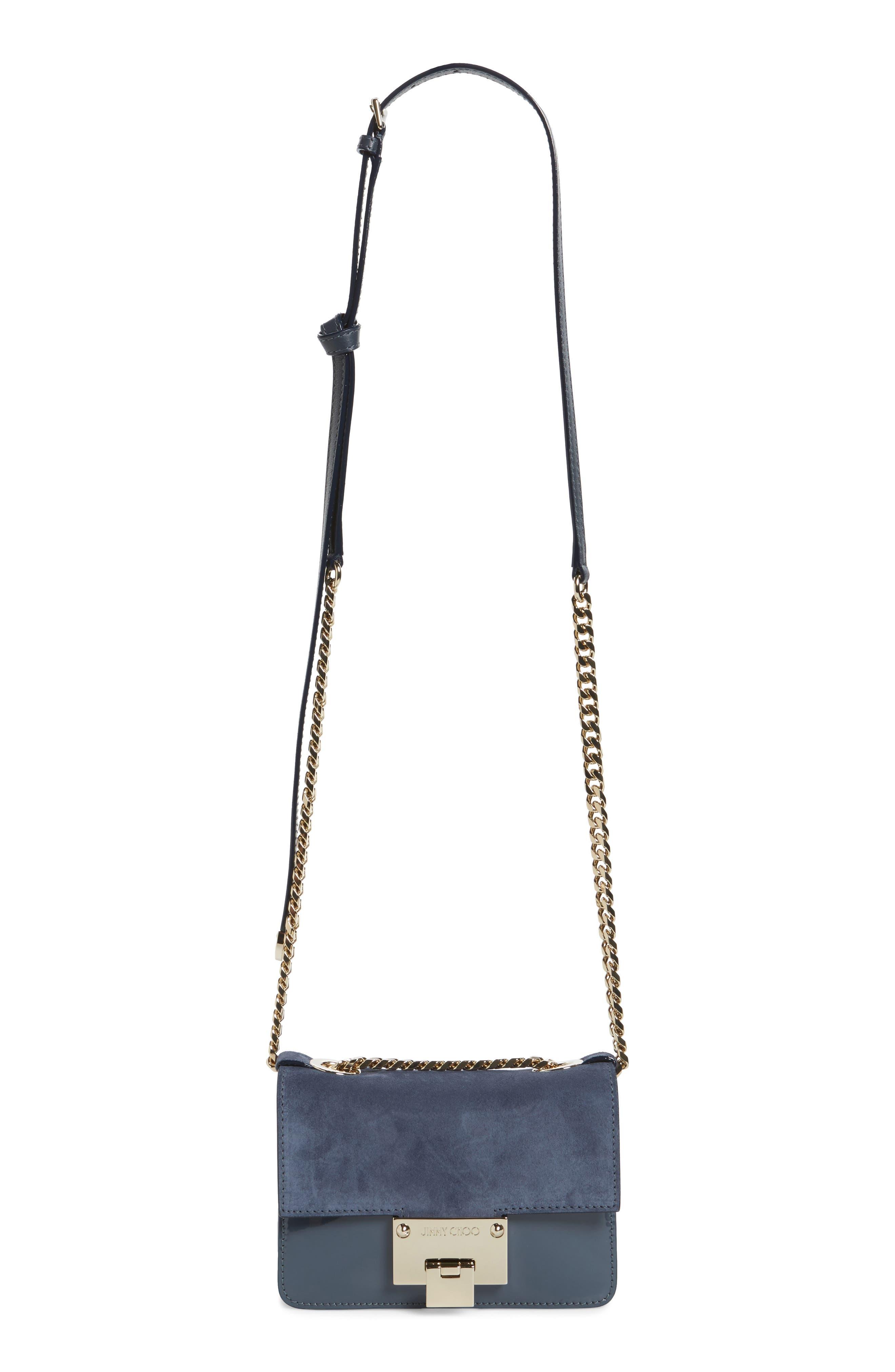 Mini Rebel Suede Crossbody Bag,                         Main,                         color, 400